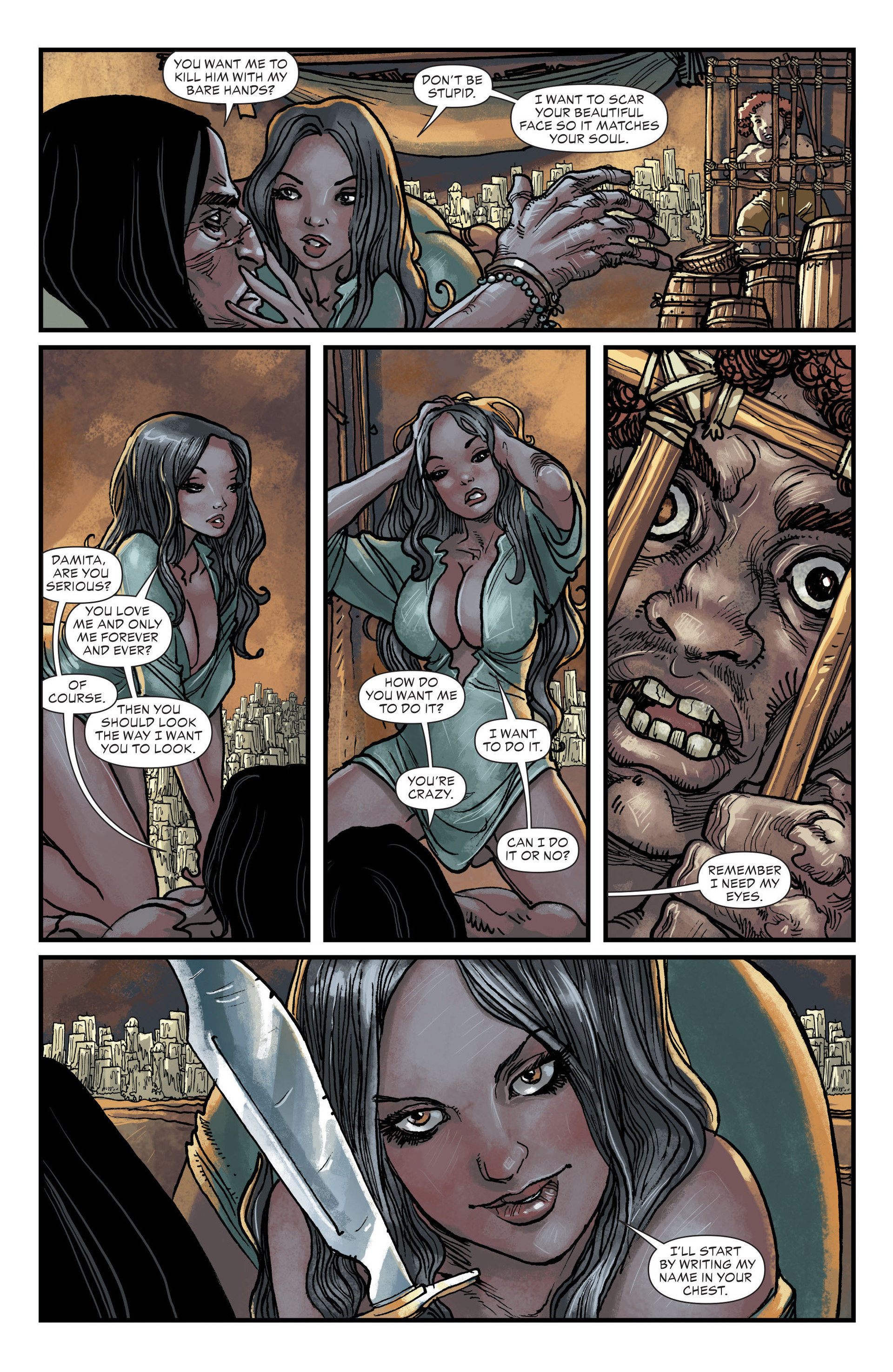 Read online All-Star Western (2011) comic -  Issue #20 - 11