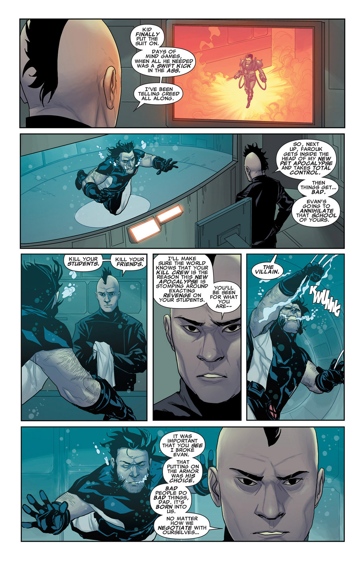 Read online Uncanny X-Force (2010) comic -  Issue #34 - 3