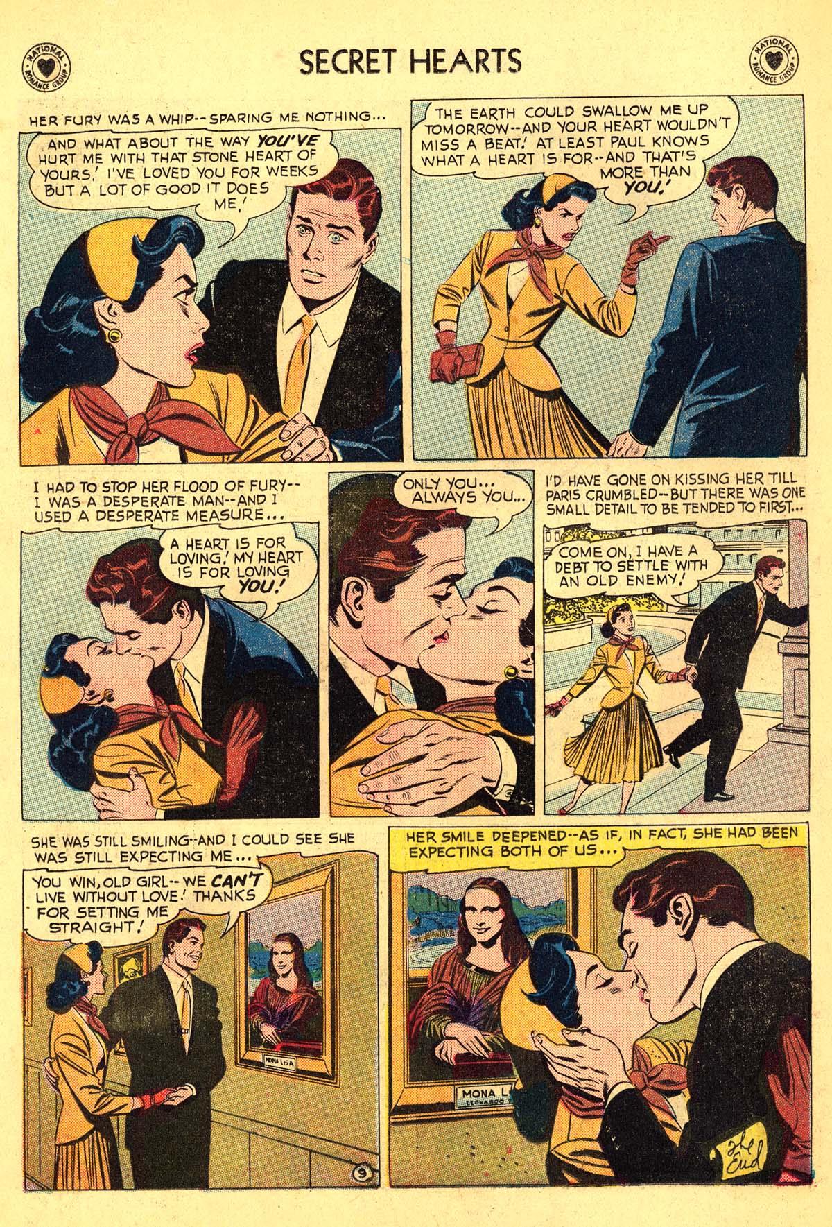Read online Secret Hearts comic -  Issue #54 - 34