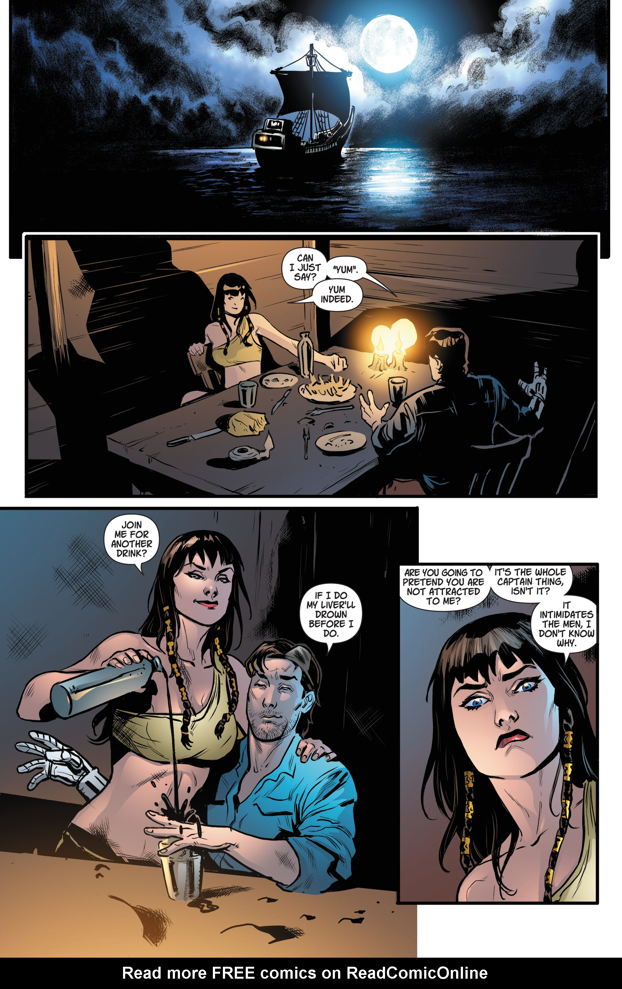 Read online Army Of Darkness/Xena: Forever…And A Day comic -  Issue #3 - 15