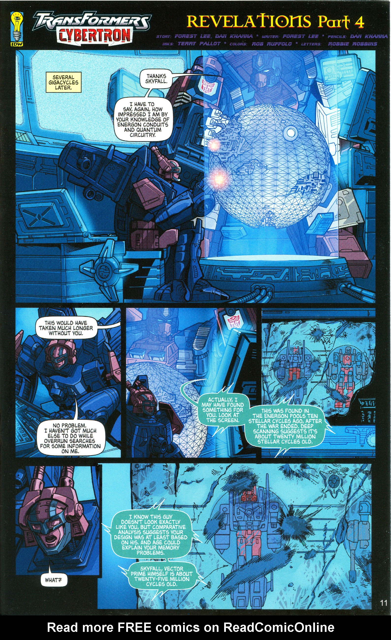Read online Transformers: Collectors' Club comic -  Issue #10 - 11