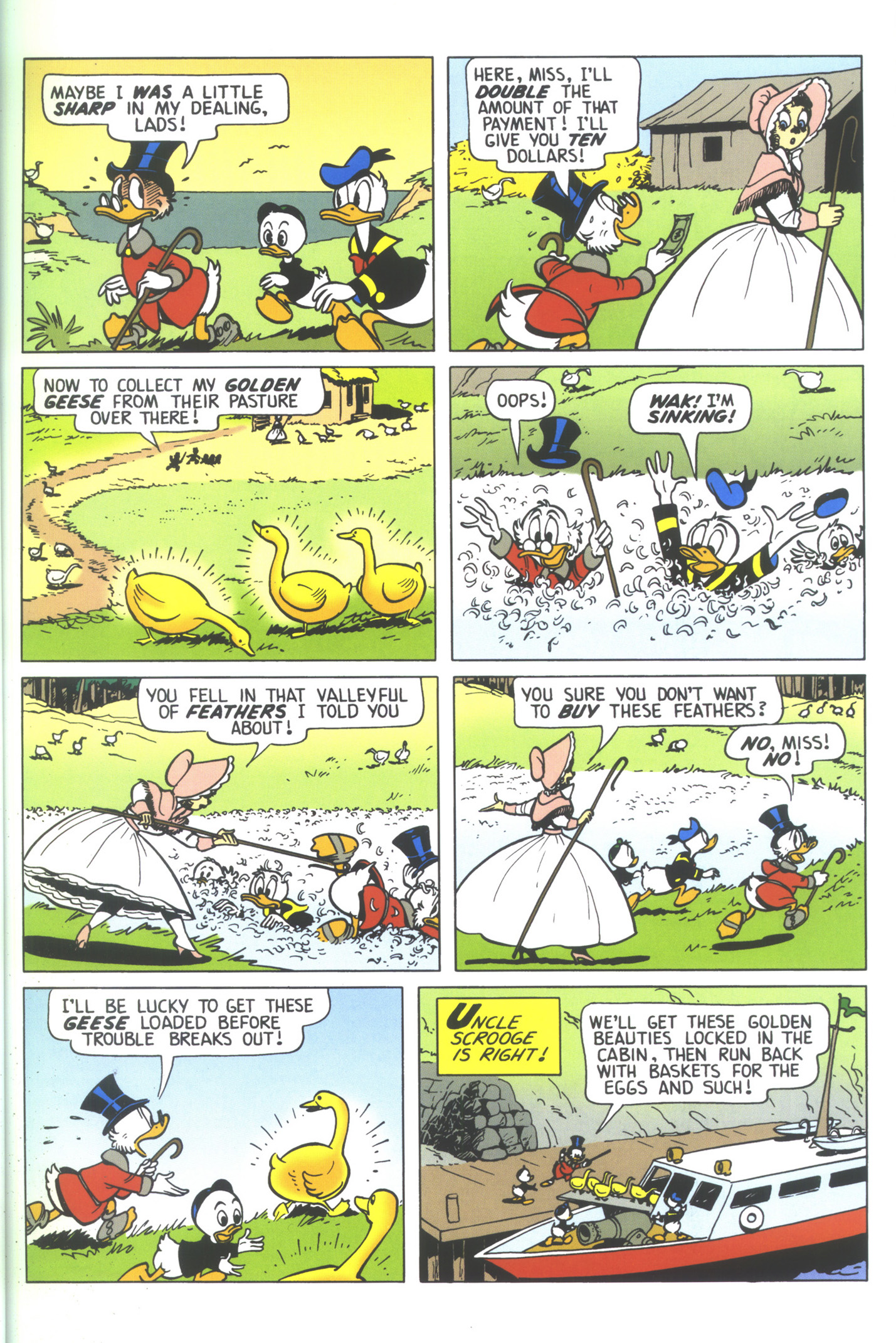 Read online Uncle Scrooge (1953) comic -  Issue #352 - 19