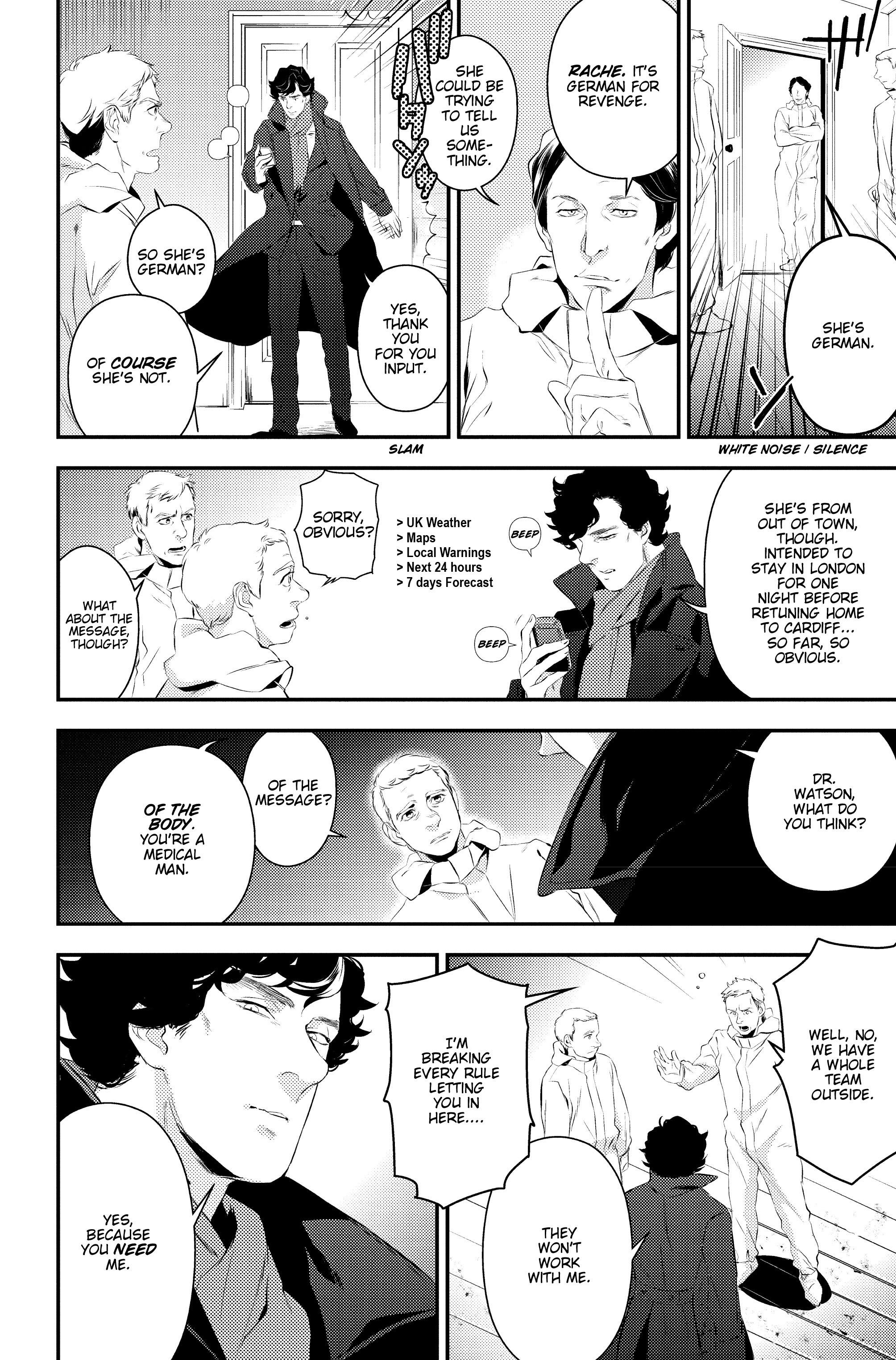 Read online Sherlock: A Study In Pink comic -  Issue #2 - 21