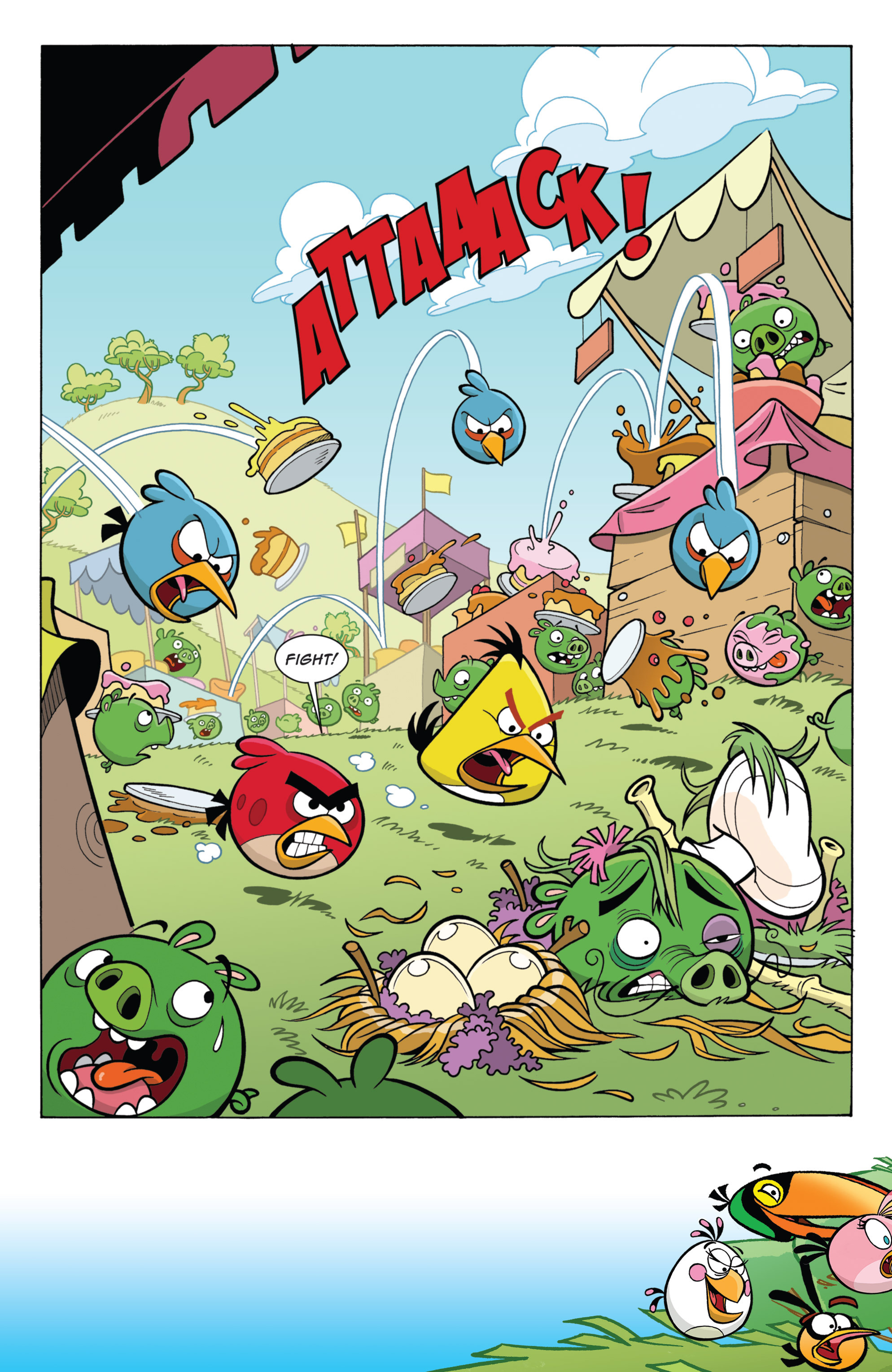 Read online Angry Birds Comics (2014) comic -  Issue #11 - 21