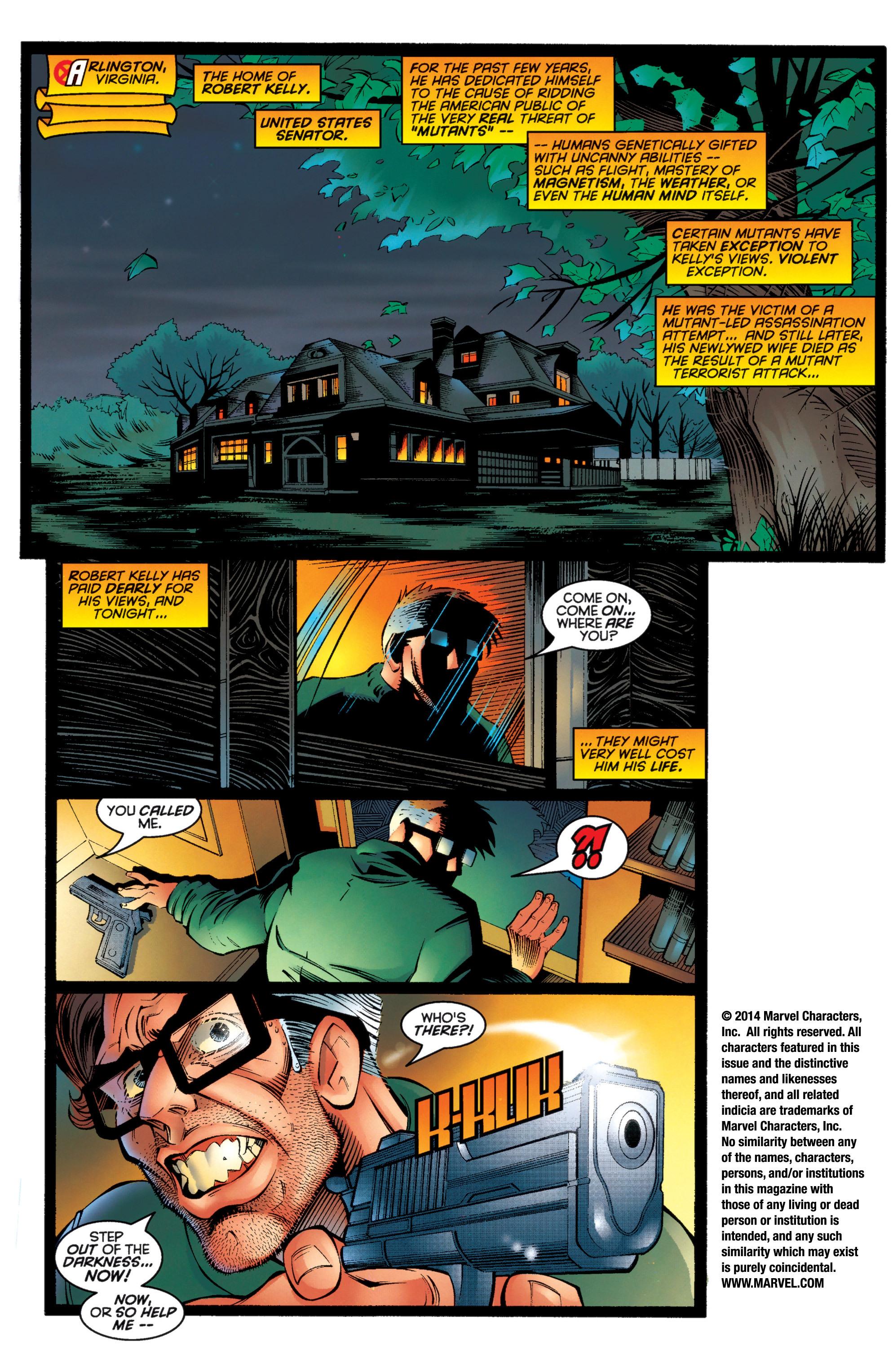 Read online Uncanny X-Men (1963) comic -  Issue #333 - 2