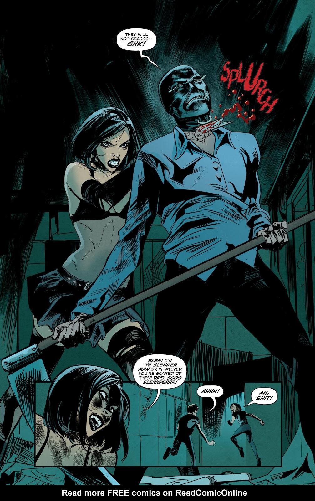 Read online Hack/Slash vs. Chaos comic -  Issue #3 - 6