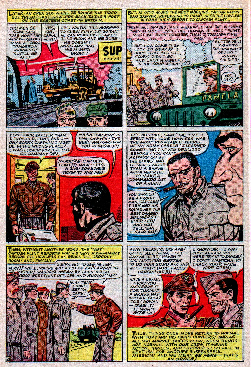 Read online Sgt. Fury comic -  Issue #11 - 30
