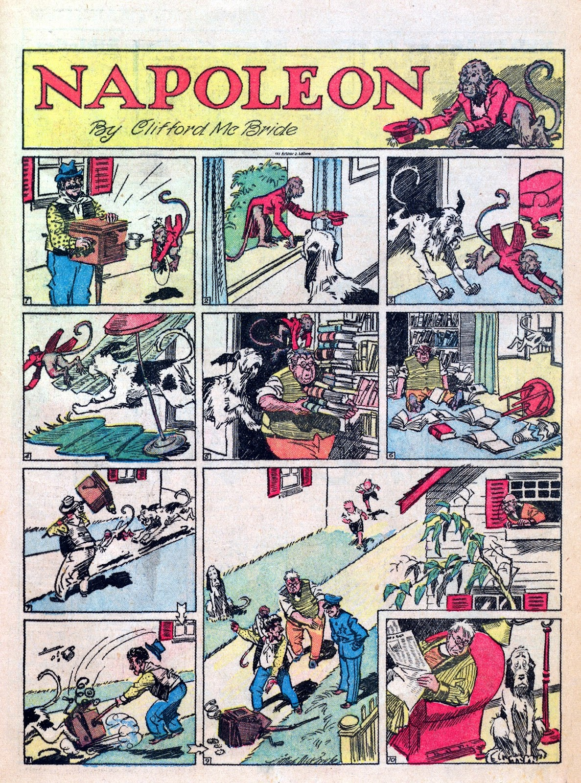Read online Famous Funnies comic -  Issue #6 - 49