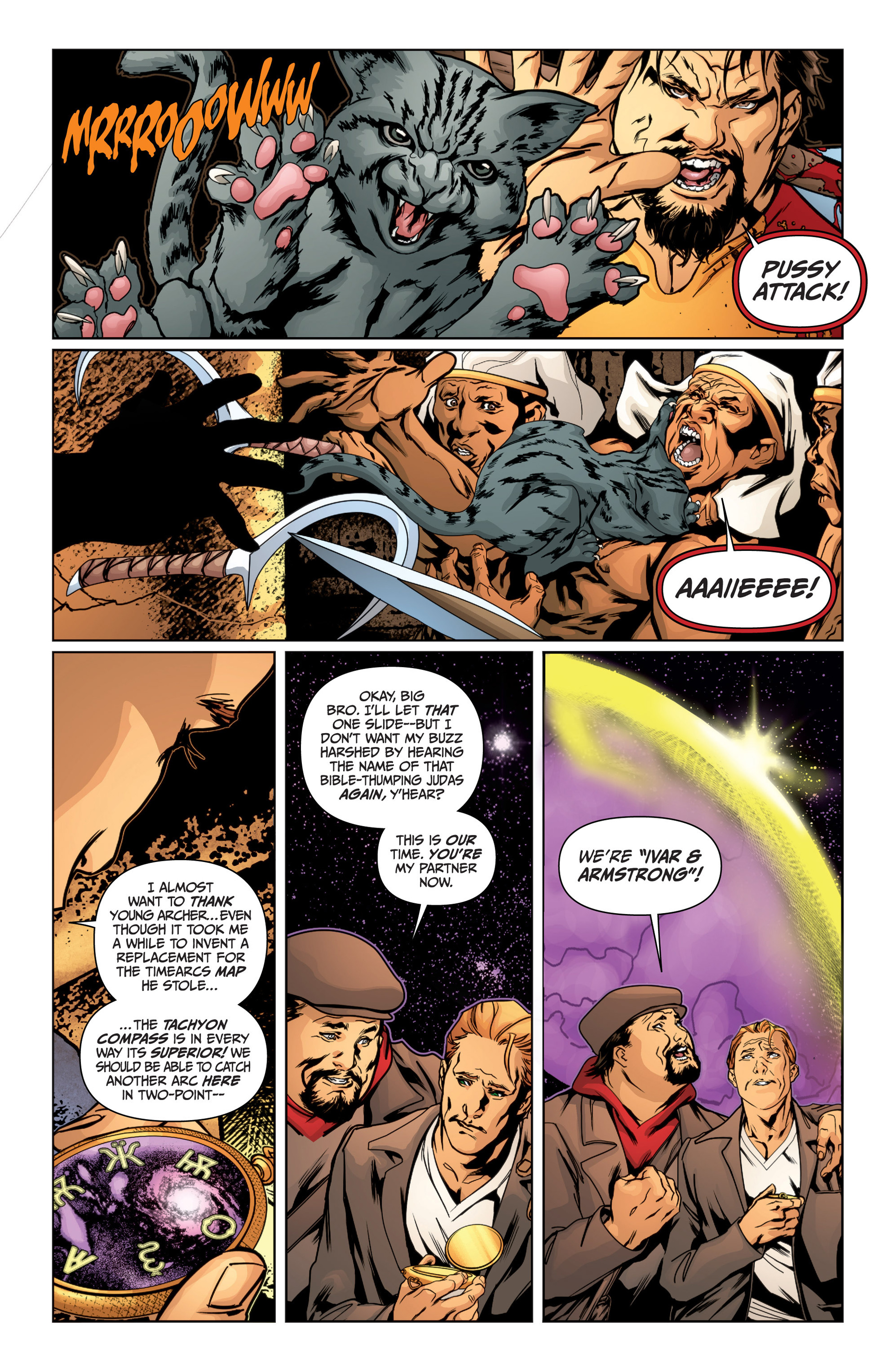 Read online Archer and Armstrong comic -  Issue #15 - 9