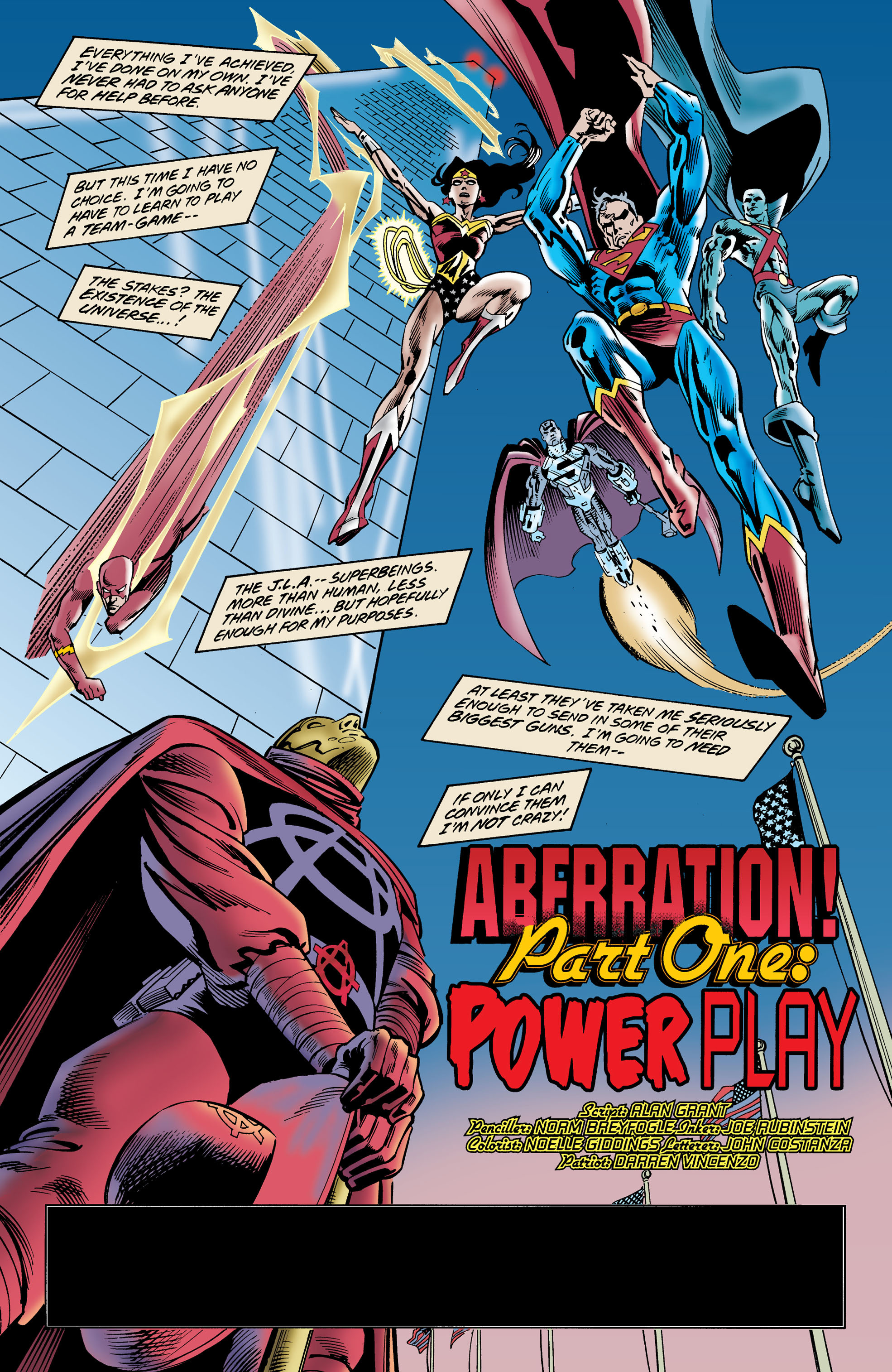 Read online Anarky (1999) comic -  Issue #1 - 2