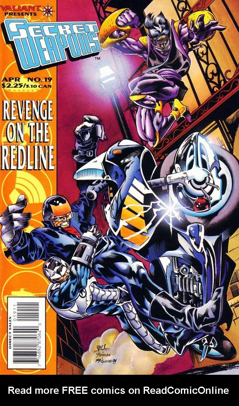 Read online Secret Weapons comic -  Issue #19 - 1