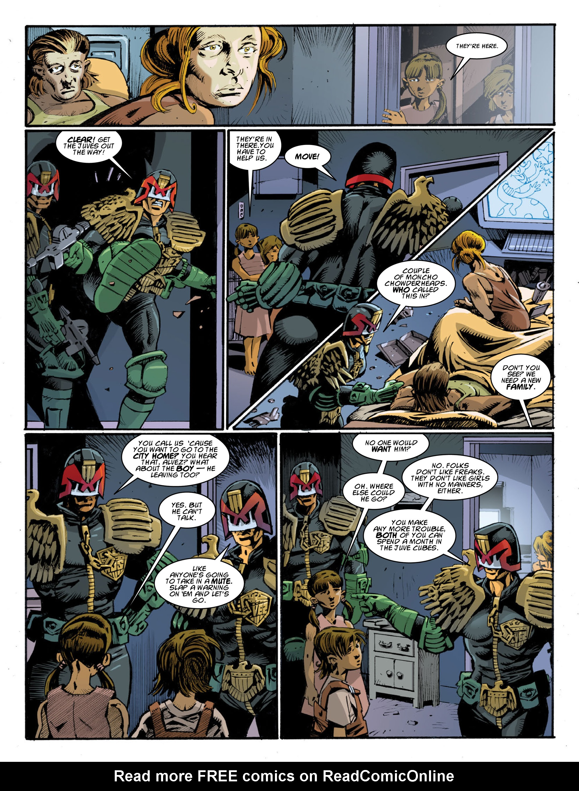 Read online 2000 AD comic -  Issue #1997 - 26