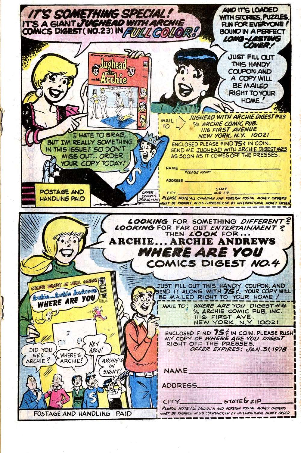 Read online Archie (1960) comic -  Issue #266 - 19