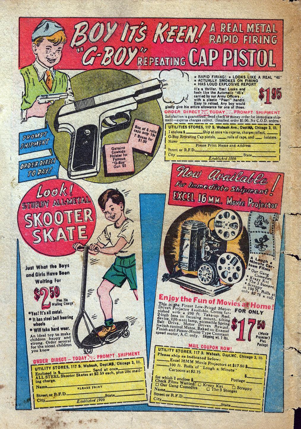 Read online Sensation (Mystery) Comics comic -  Issue #60 - 50