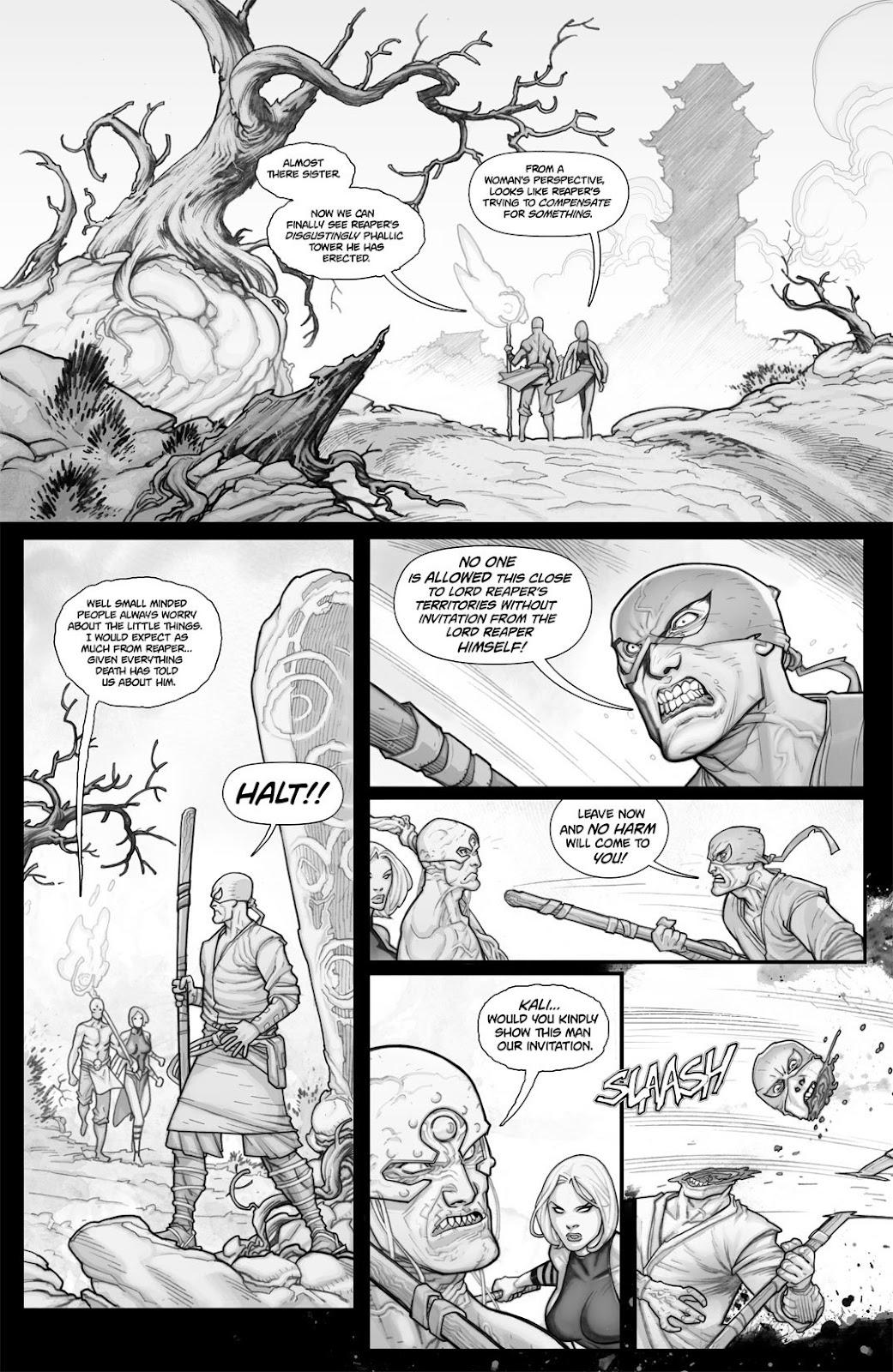 Read online Reaper comic -  Issue #2 - 7