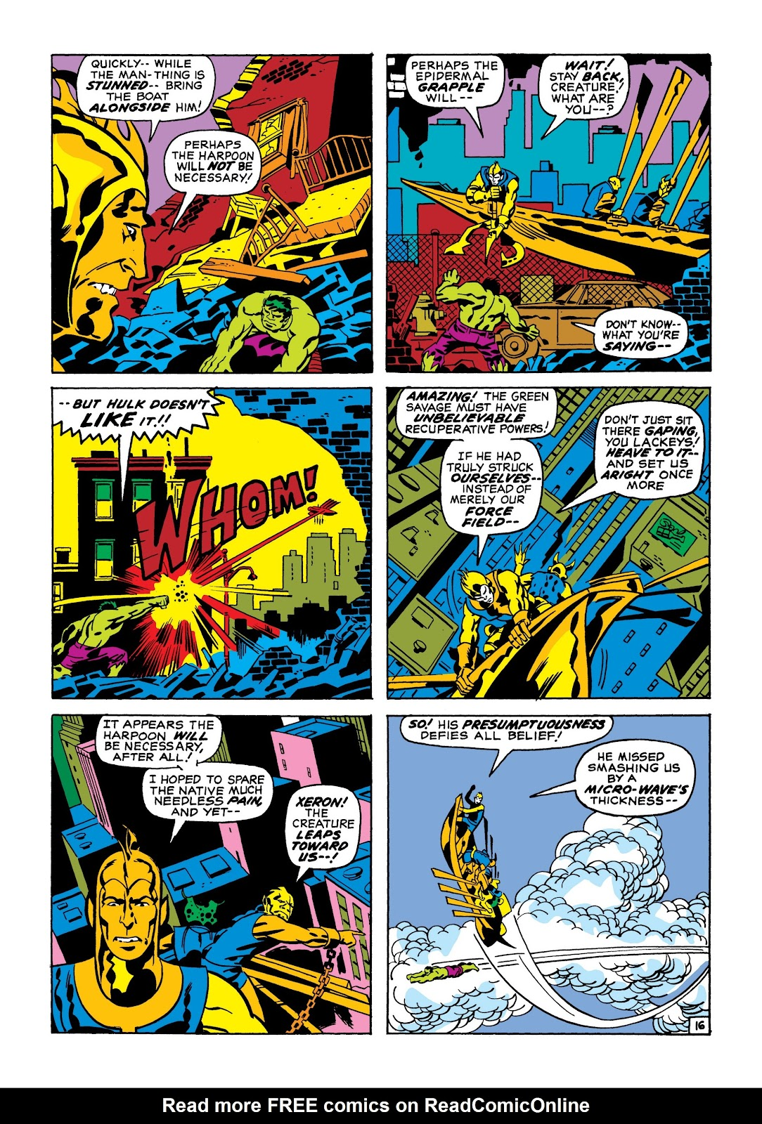 Read online Marvel Masterworks: The Incredible Hulk comic -  Issue # TPB 7 (Part 1) - 42