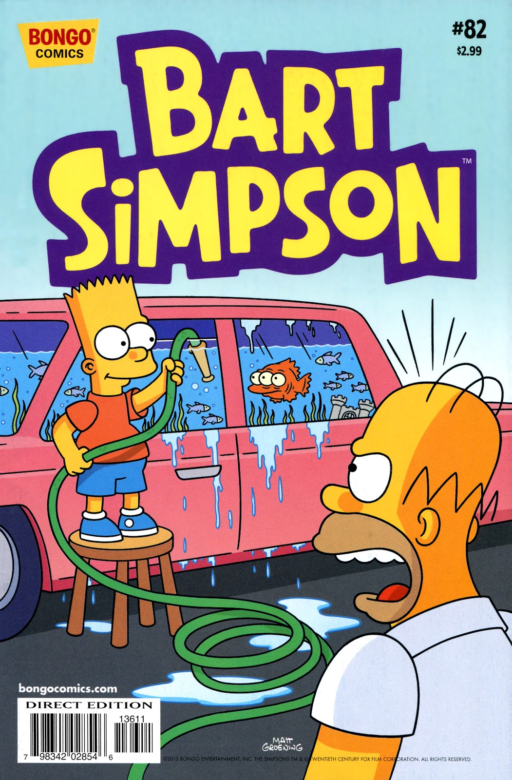 Simpsons Comics Presents Bart Simpson 82 Page 1