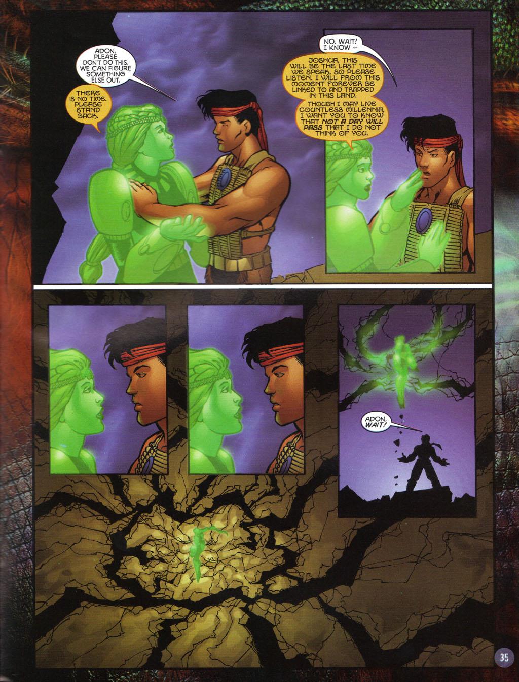 Read online Turok 2: Adon's Curse comic -  Issue # Full - 36