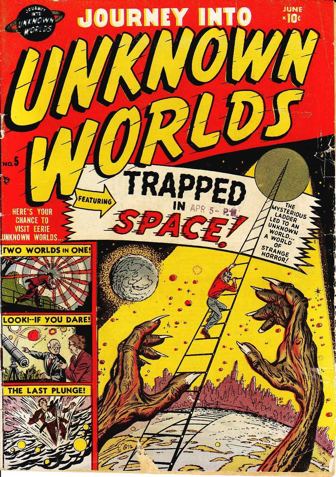 Journey Into Unknown Worlds (1950) issue 5 - Page 1