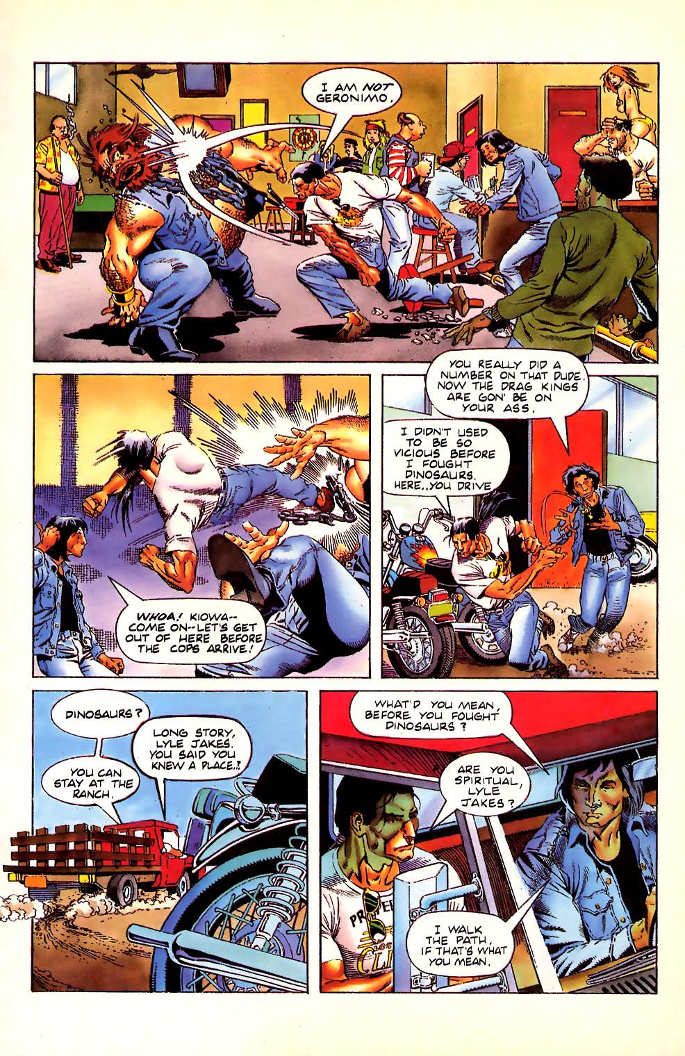 Read online Turok, Dinosaur Hunter (1993) comic -  Issue #11 - 12