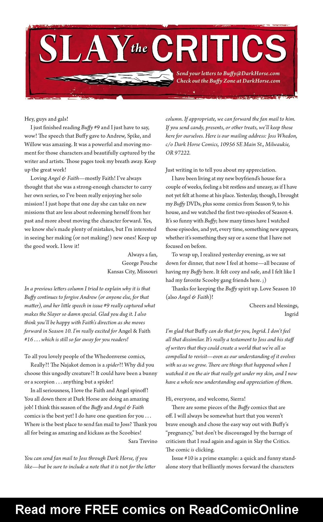 Read online Angel & Faith Season 10 comic -  Issue #12 - 25