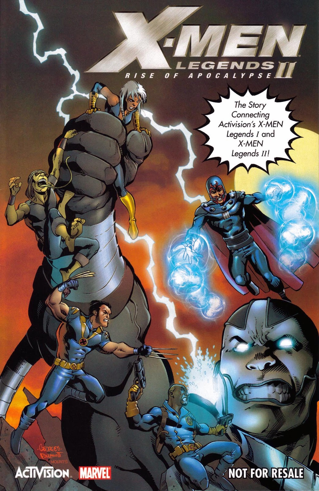 X-Men Legends II: Rise of Apocalypse (Activision) Full Page 1