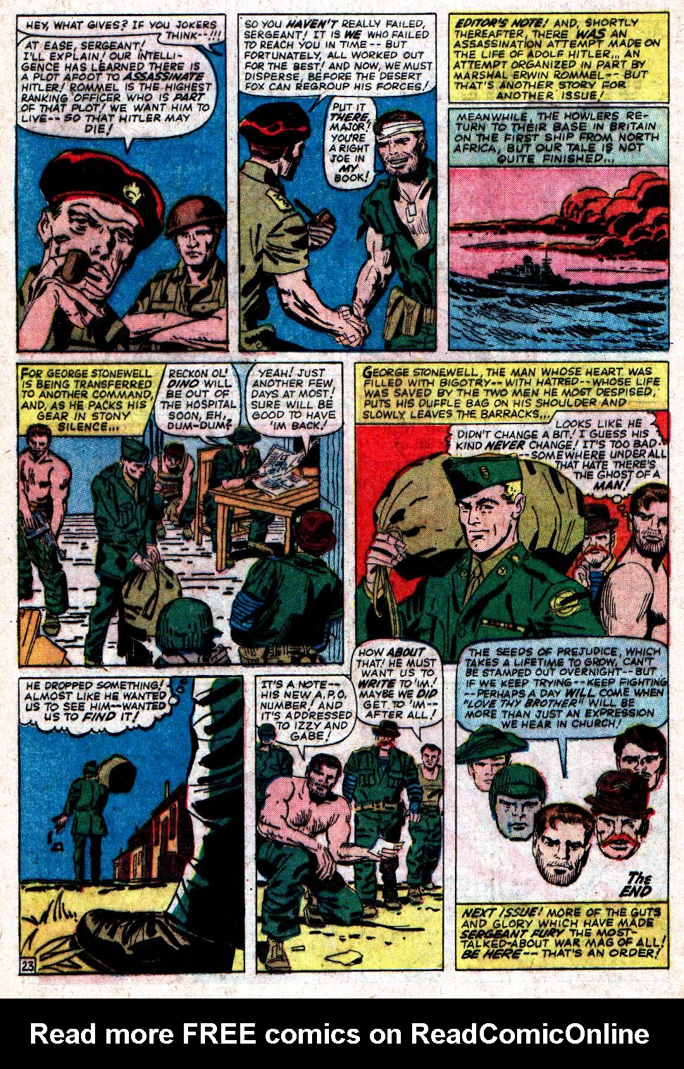 Read online Sgt. Fury comic -  Issue #6 - 32