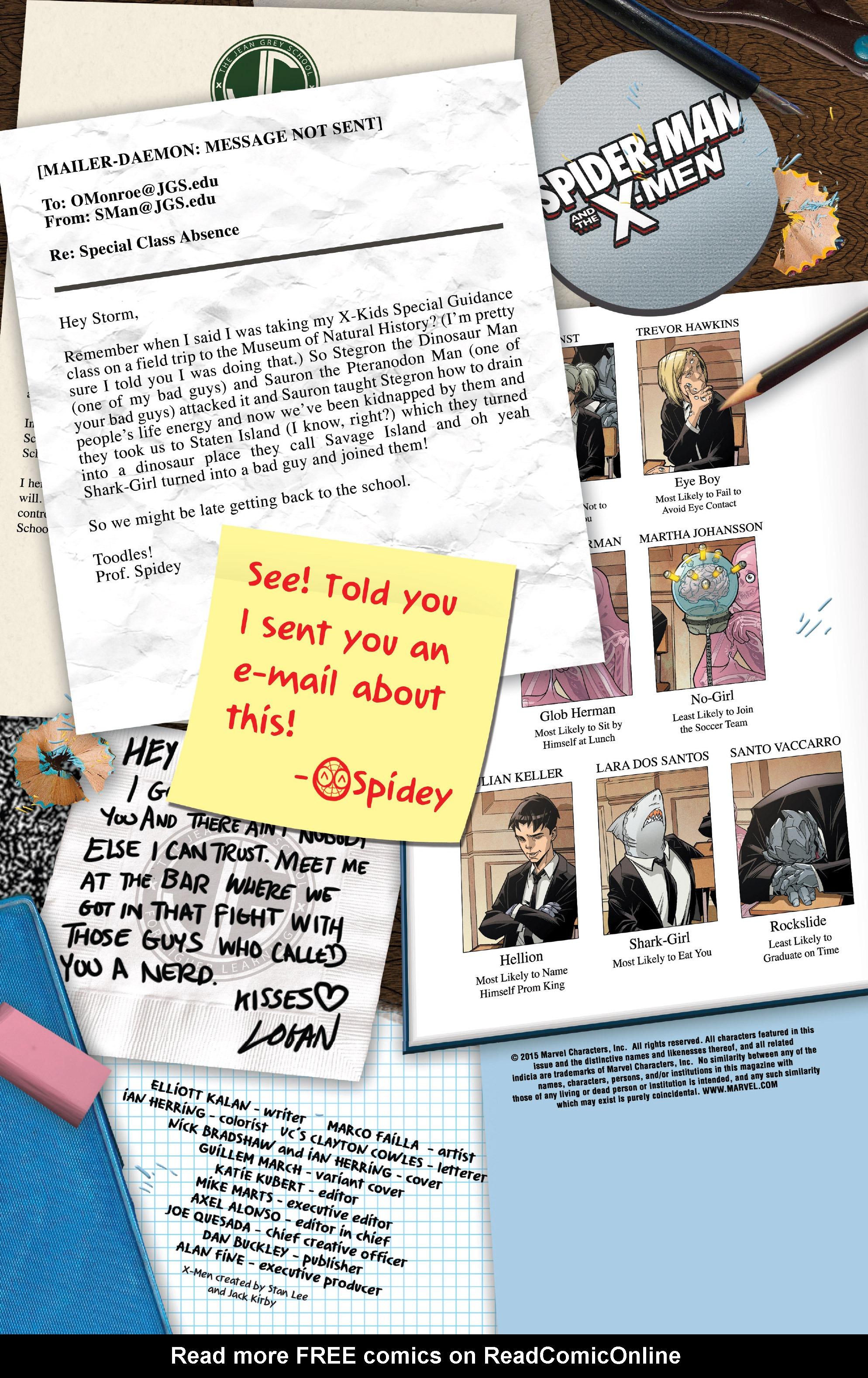 Spider-Man & the X-Men 2 Page 2