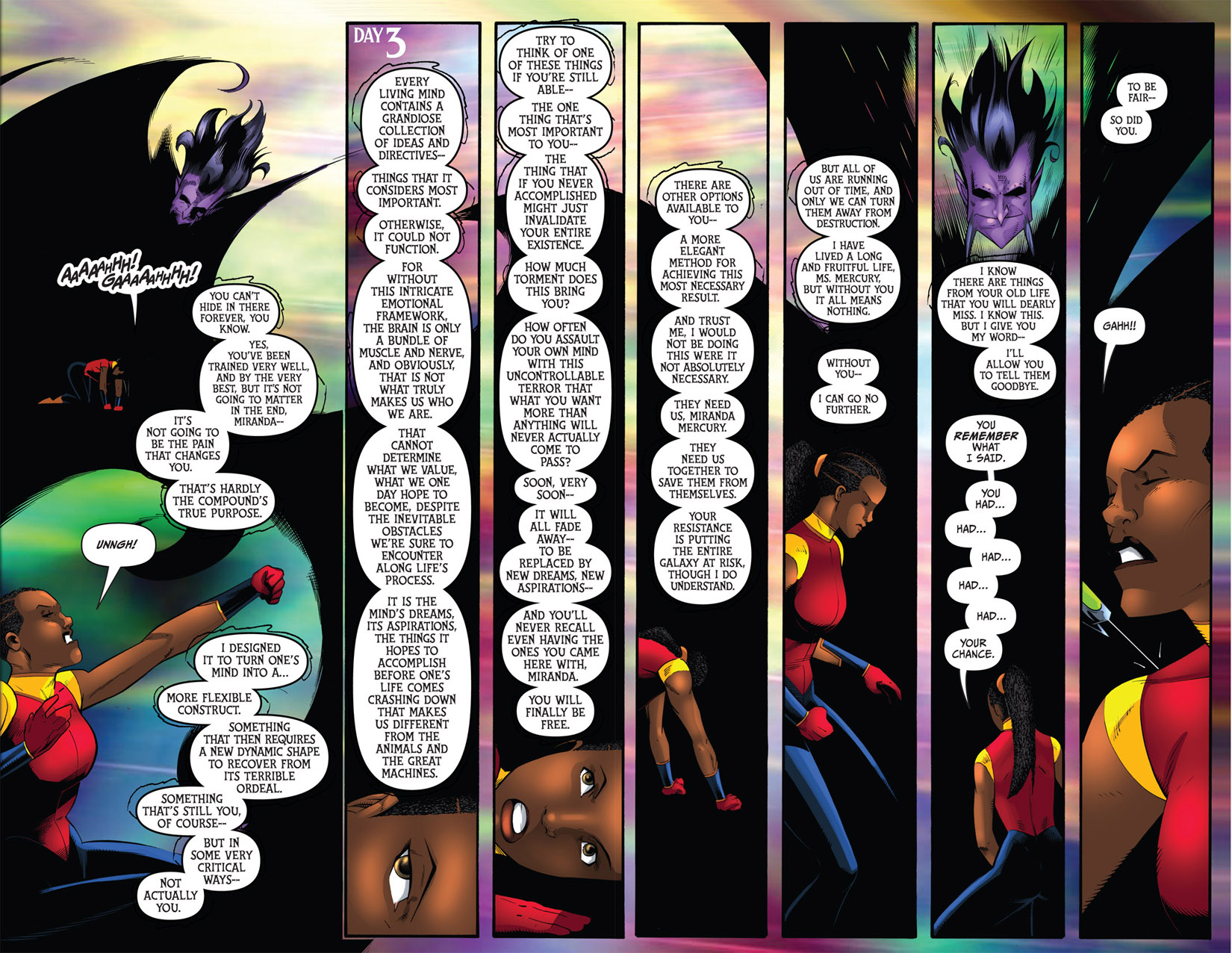Read online The Many Adventures of Miranda Mercury: Time Runs Out comic -  Issue # TPB - 161