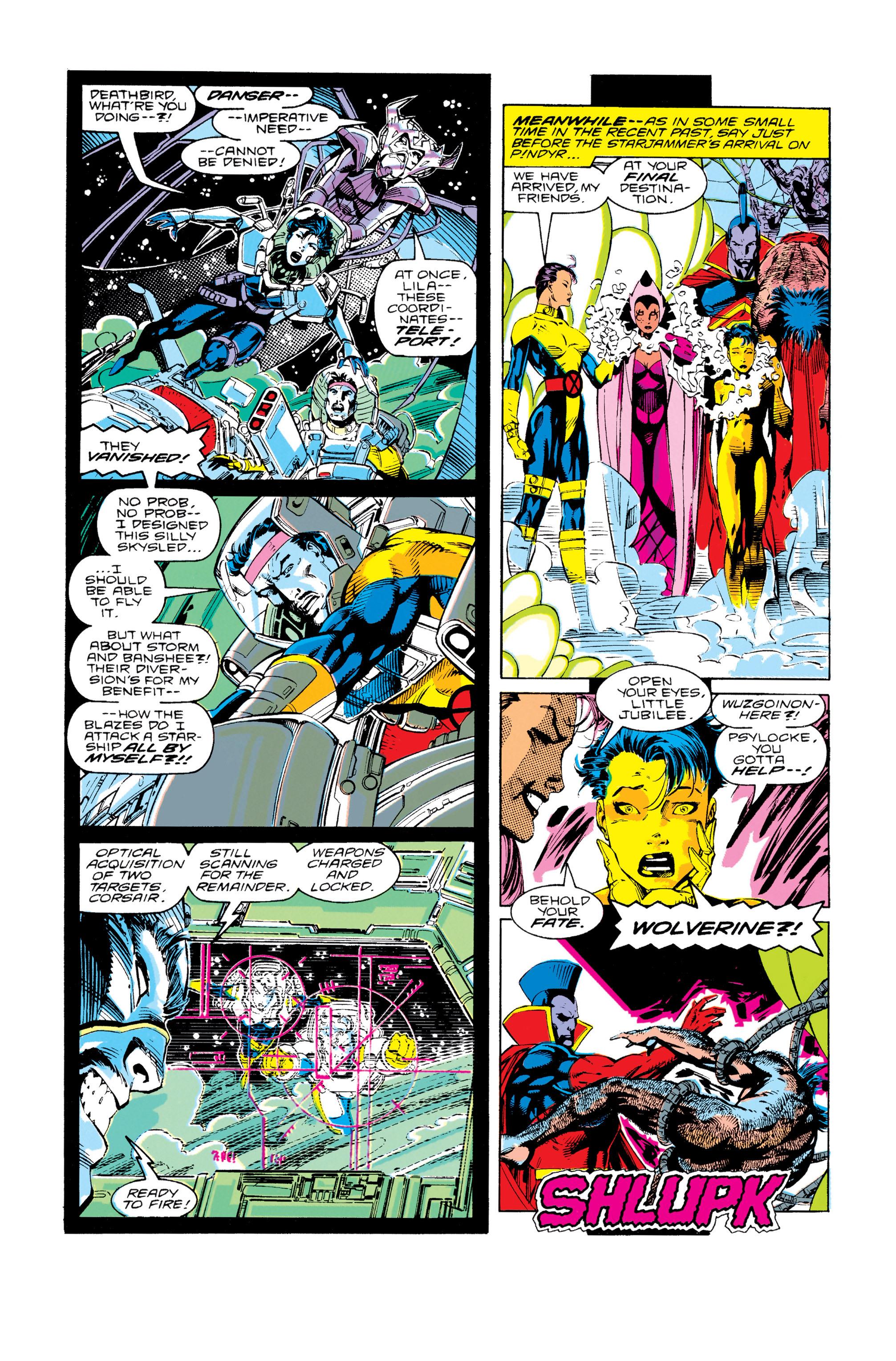 Read online Uncanny X-Men (1963) comic -  Issue #276 - 20