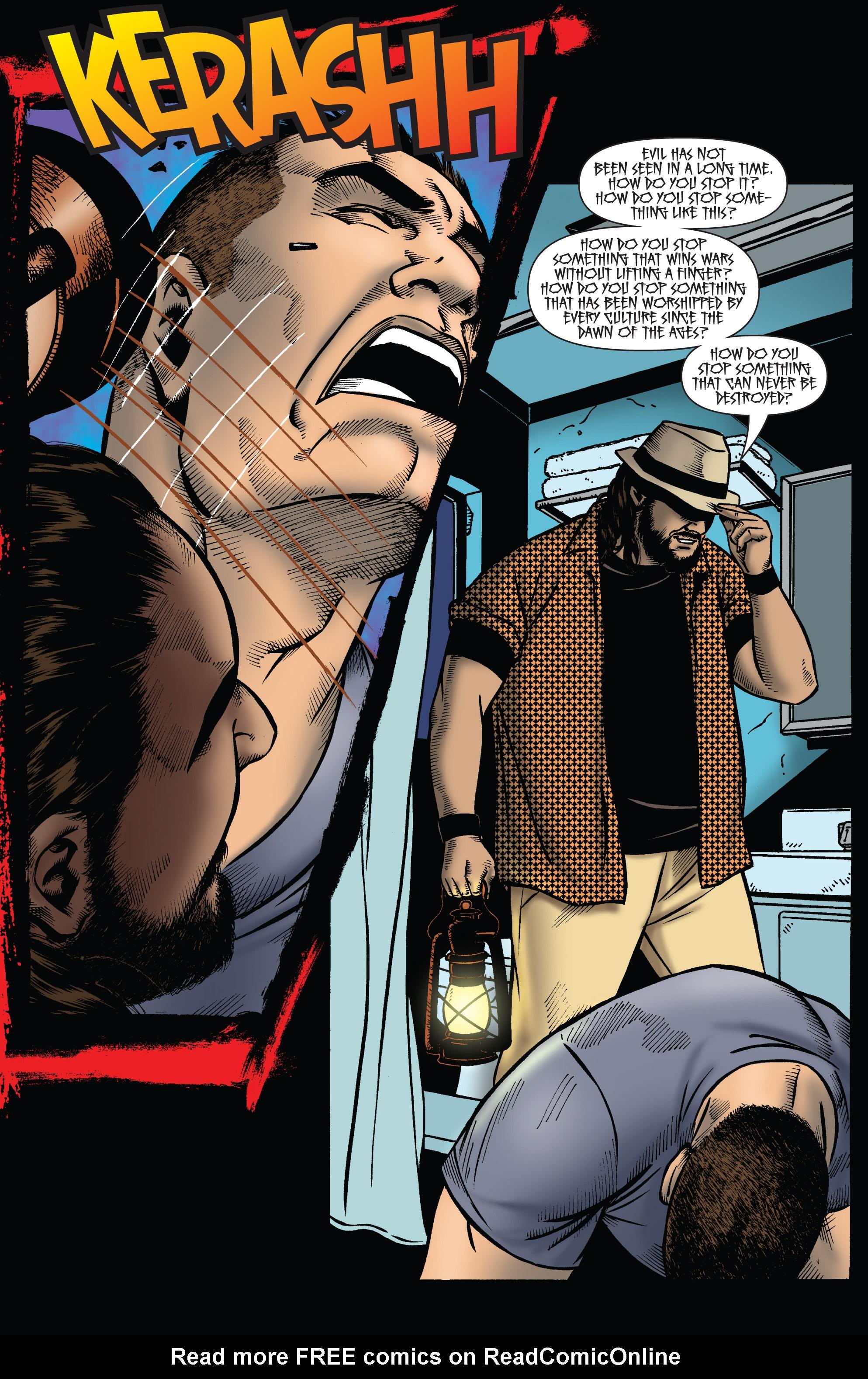 Read online WWE Superstars comic -  Issue #2 - 18