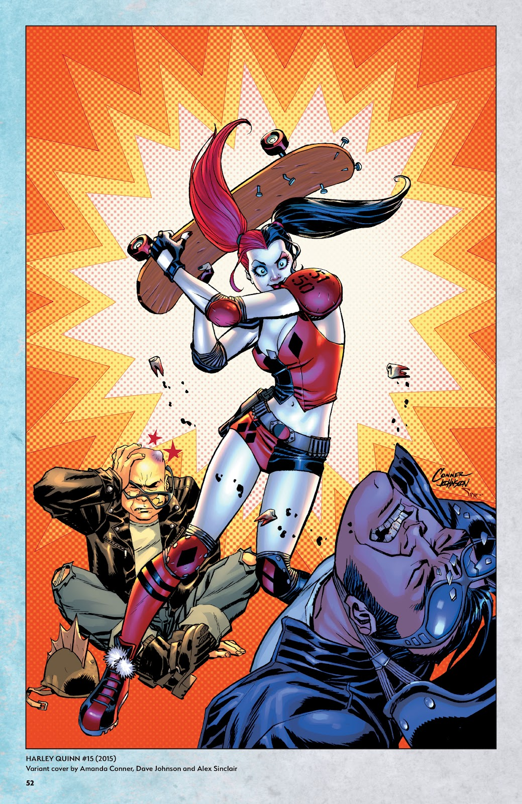 Read online Harley Quinn: A Rogue's Gallery―The Deluxe Cover Art Collection comic -  Issue # TPB (Part 1) - 50