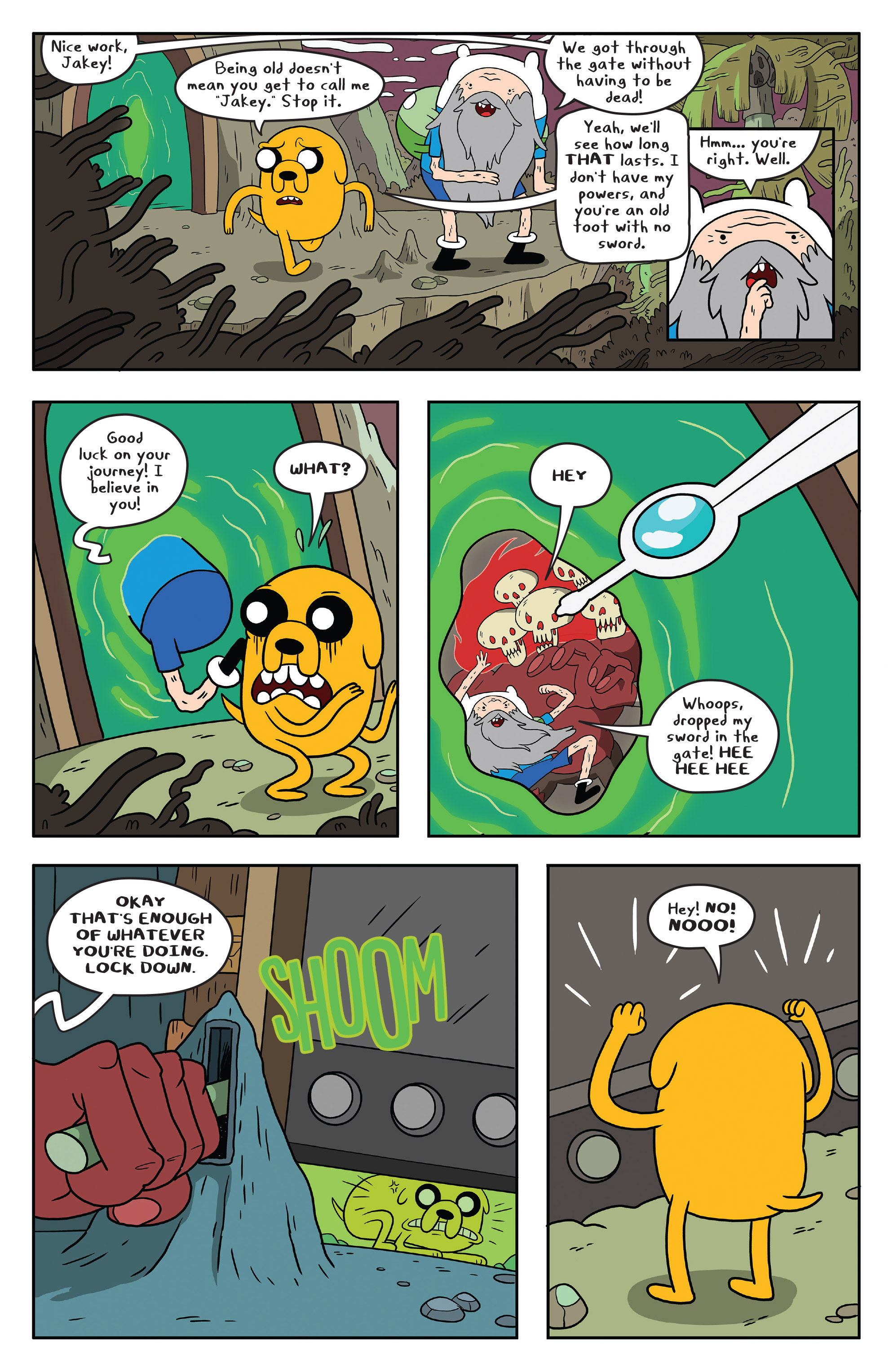 Read online Adventure Time comic -  Issue #51 - 23