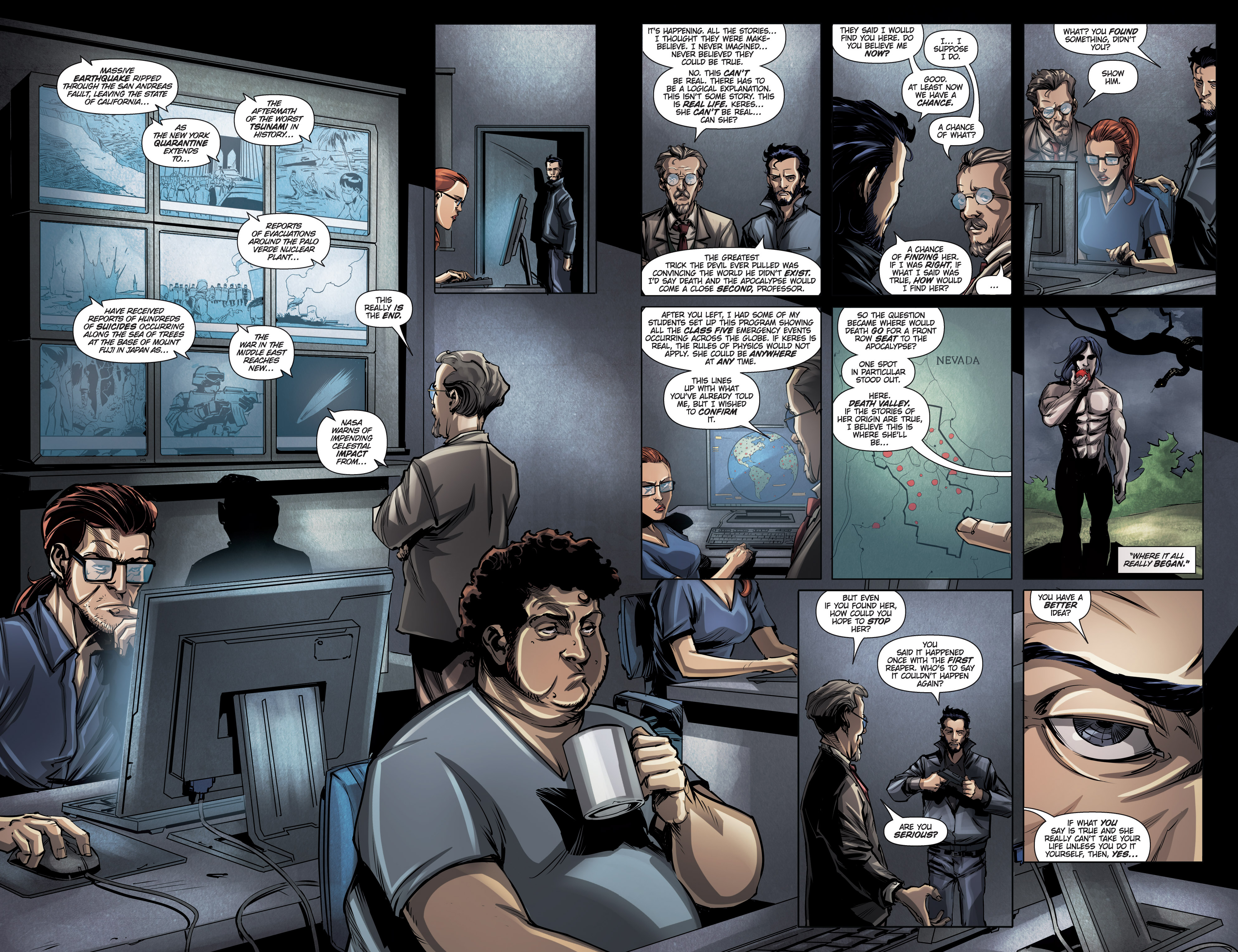 Read online Grimm Fairy Tales presents No Tomorrow comic -  Issue # TPB - 100