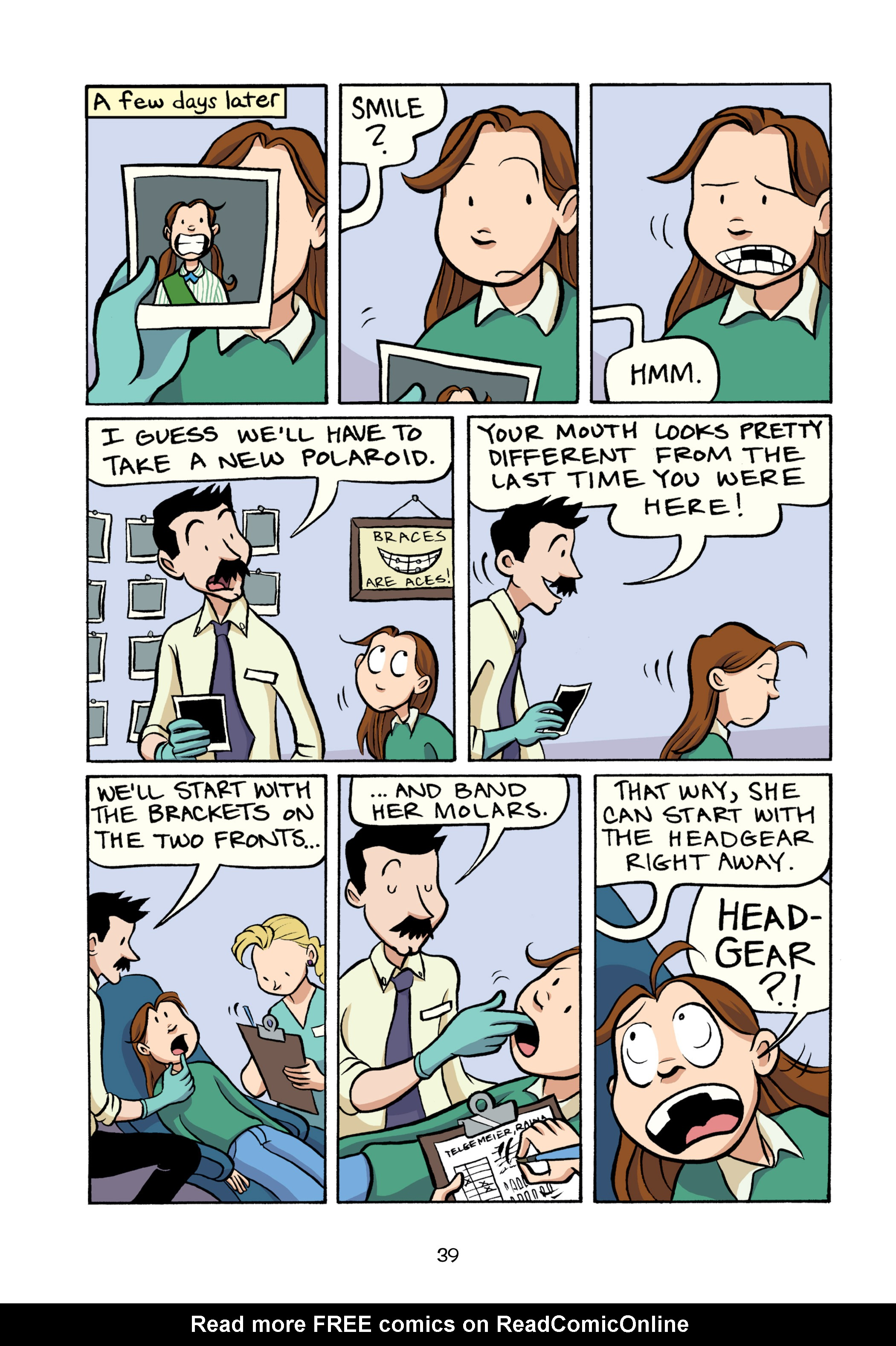 Read online Smile comic -  Issue # TPB - 45