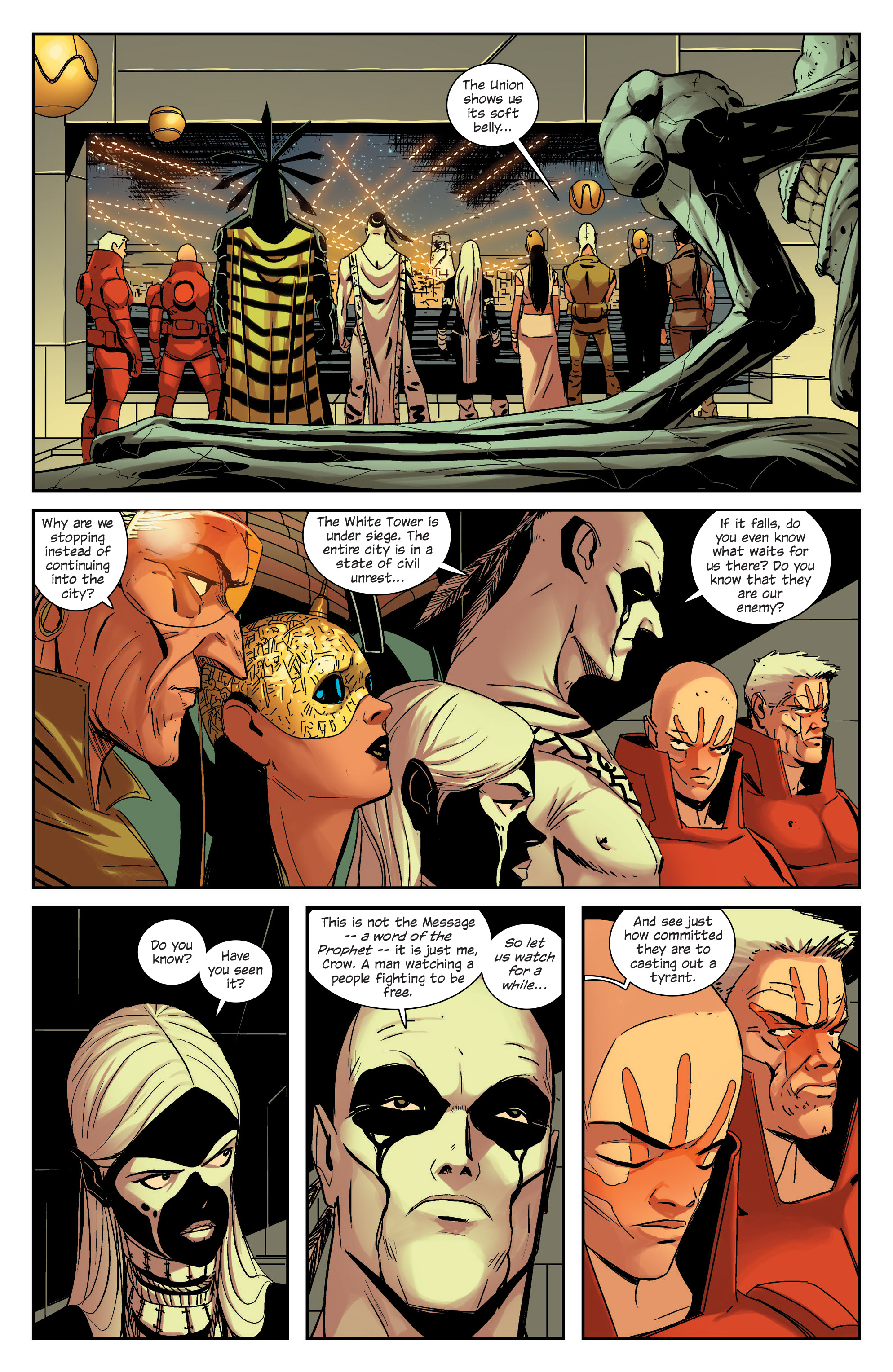 Read online East Of West comic -  Issue #33 - 15