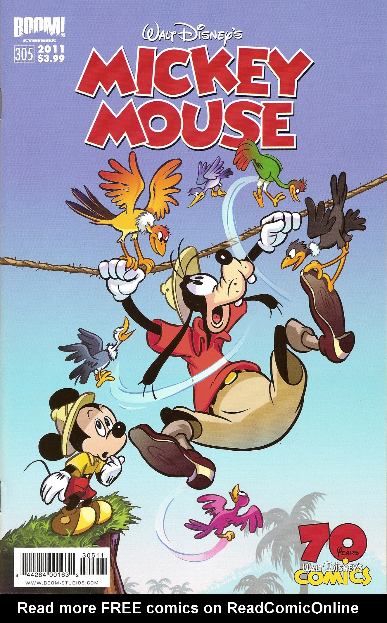 Read online Mickey Mouse (2011) comic -  Issue #305 - 1