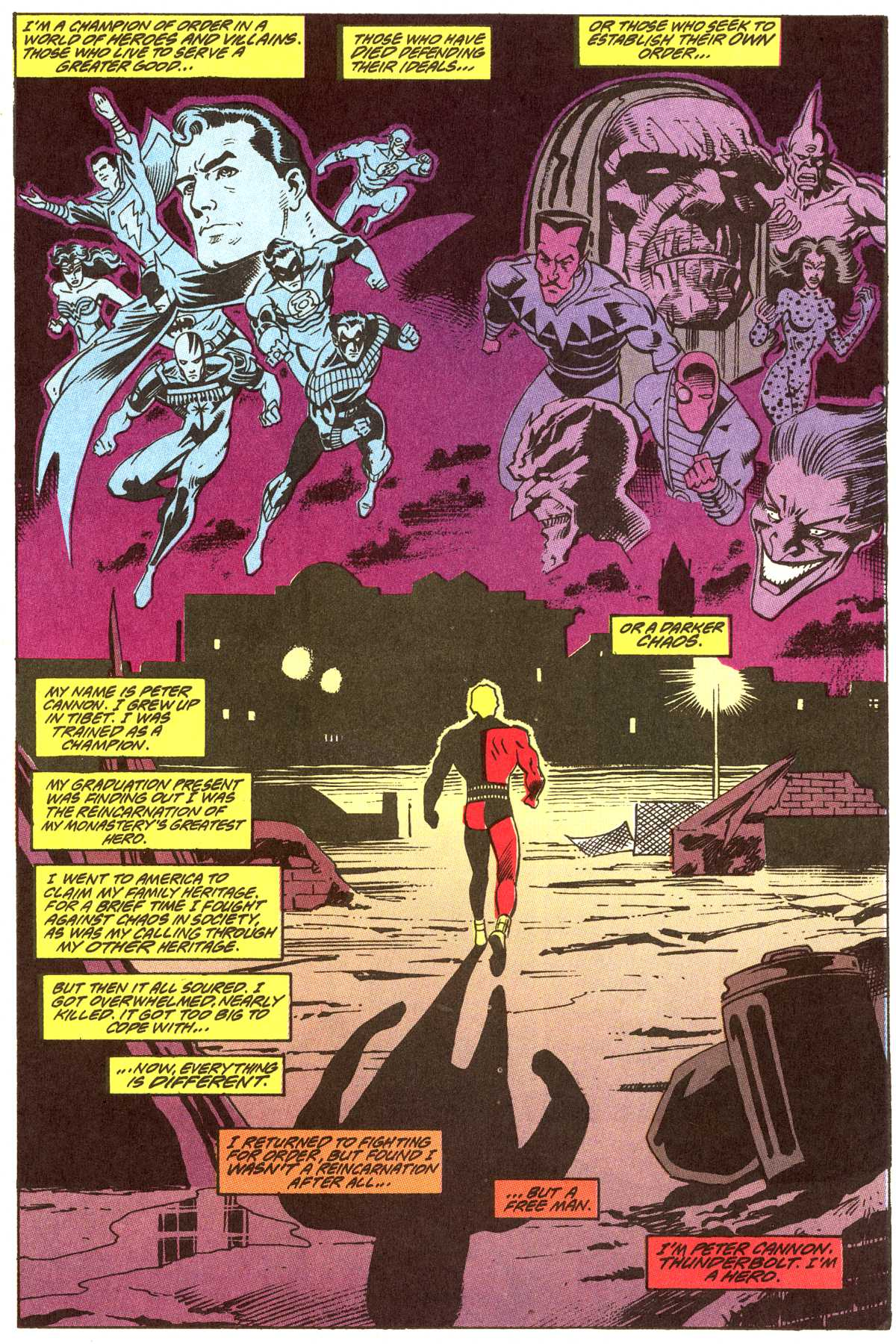 Read online Peter Cannon--Thunderbolt (1992) comic -  Issue #12 - 22