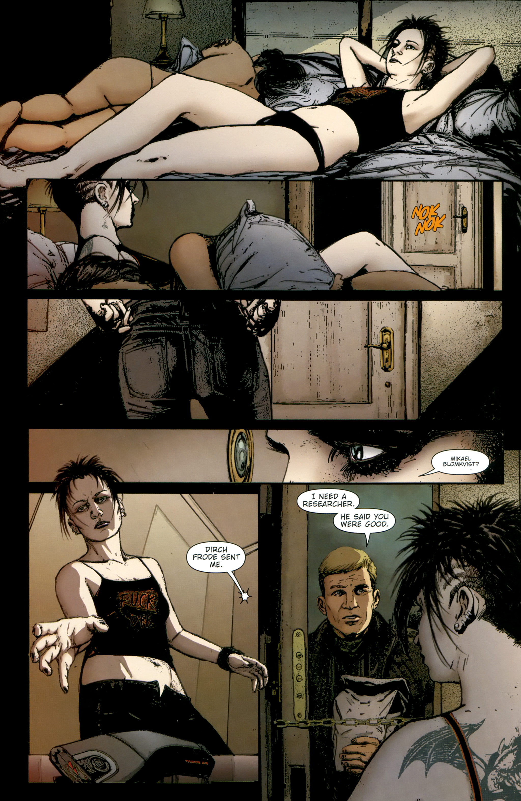 Read online The Girl With the Dragon Tattoo comic -  Issue # TPB 2 - 44