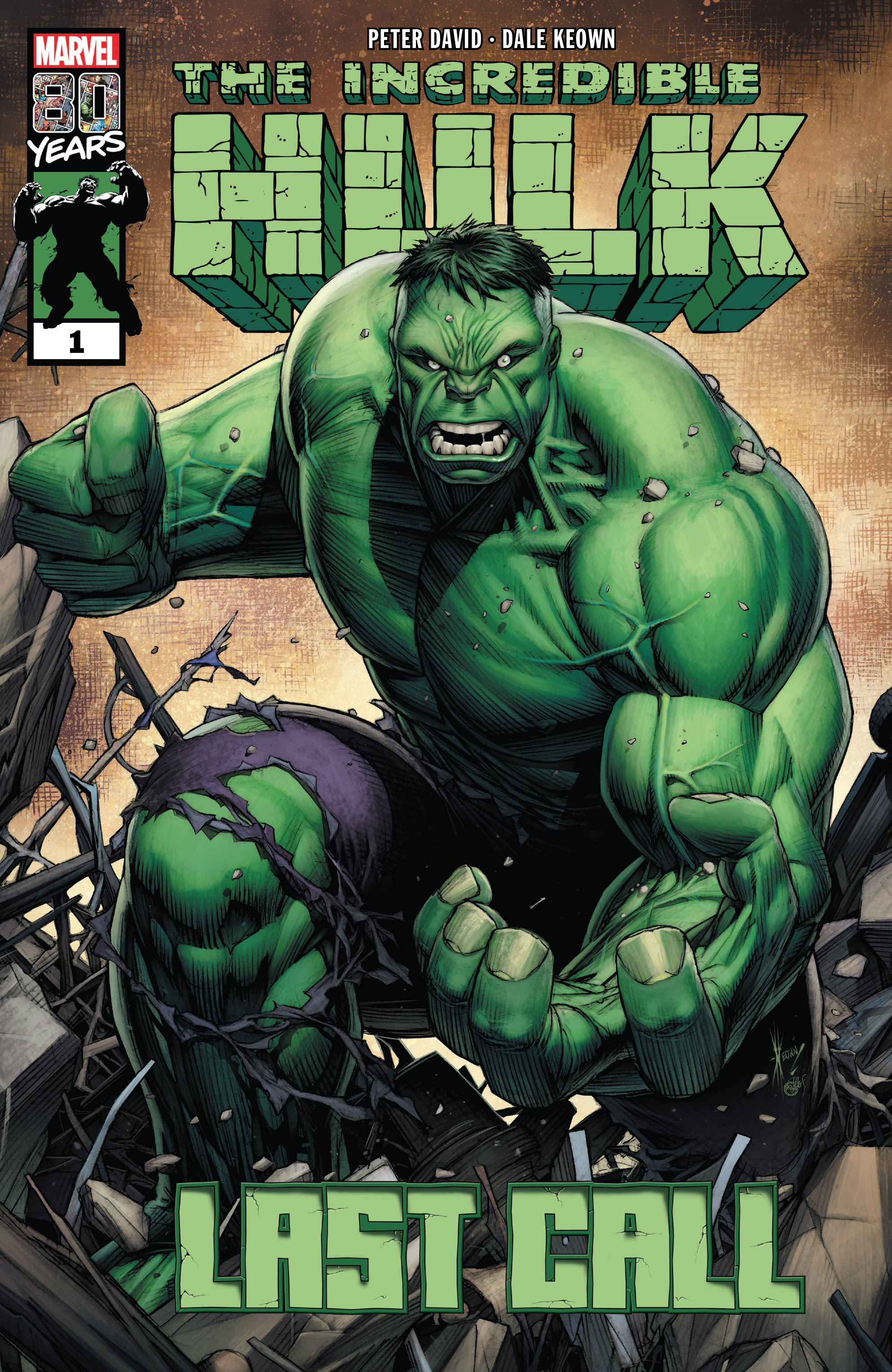 Incredible Hulk: Last Call Full Page 1