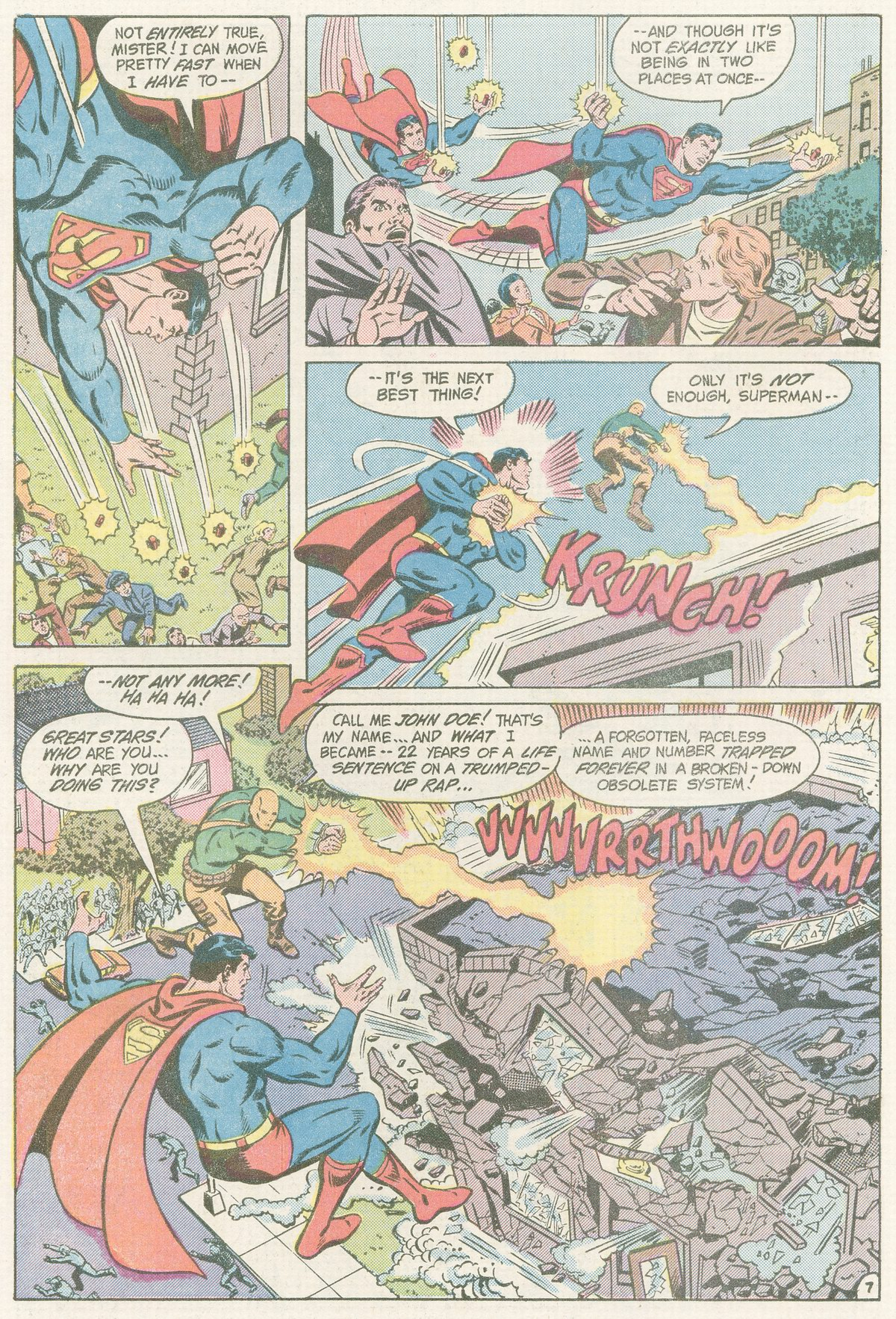 Read online Action Comics (1938) comic -  Issue #560 - 8
