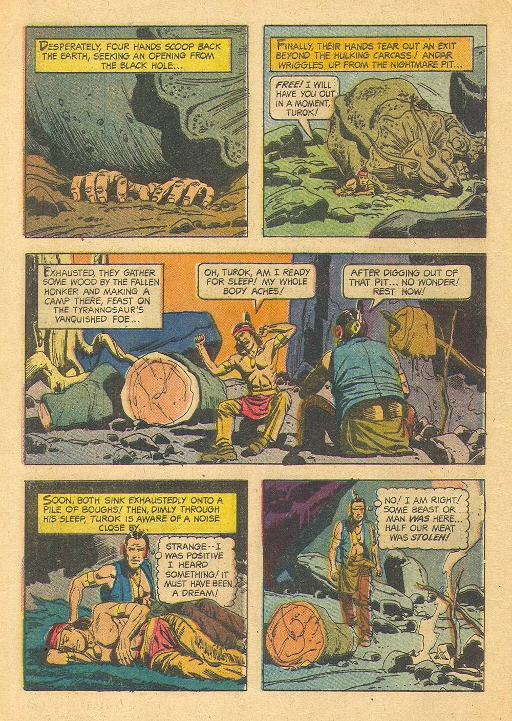 Read online Turok, Son of Stone comic -  Issue #39 - 8