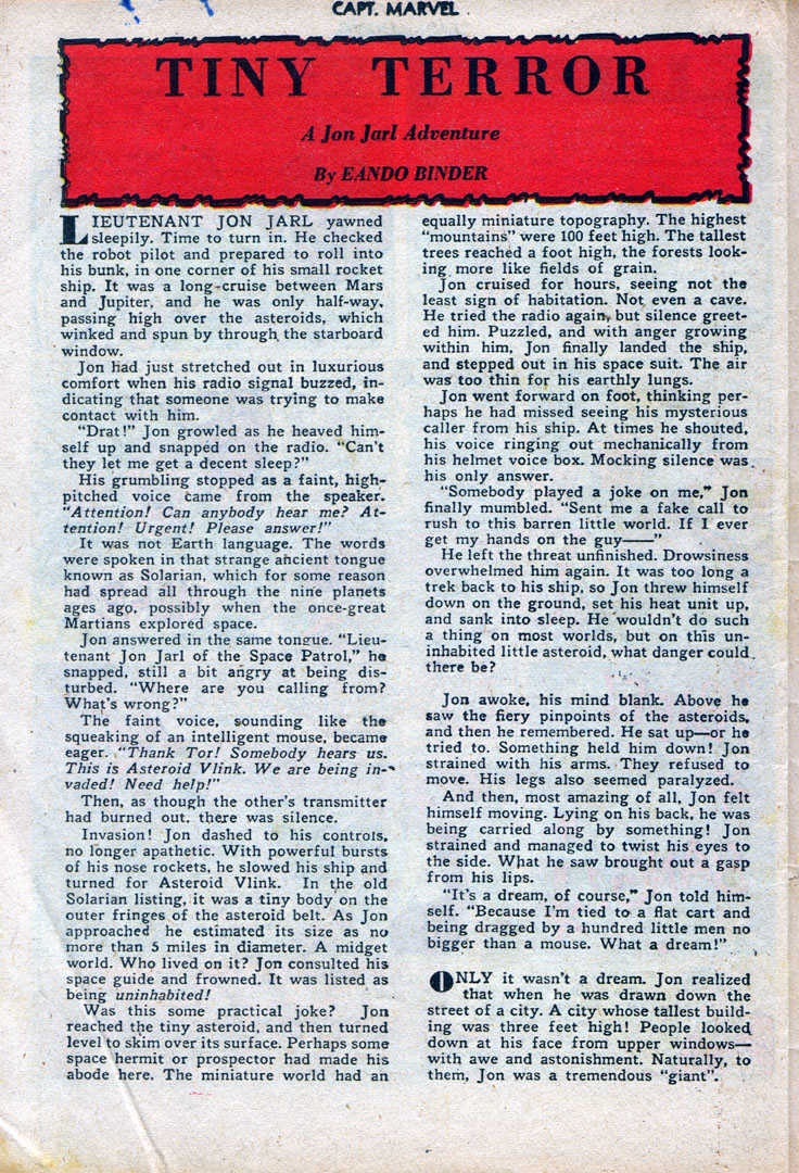 Captain Marvel Adventures issue 87 - Page 37