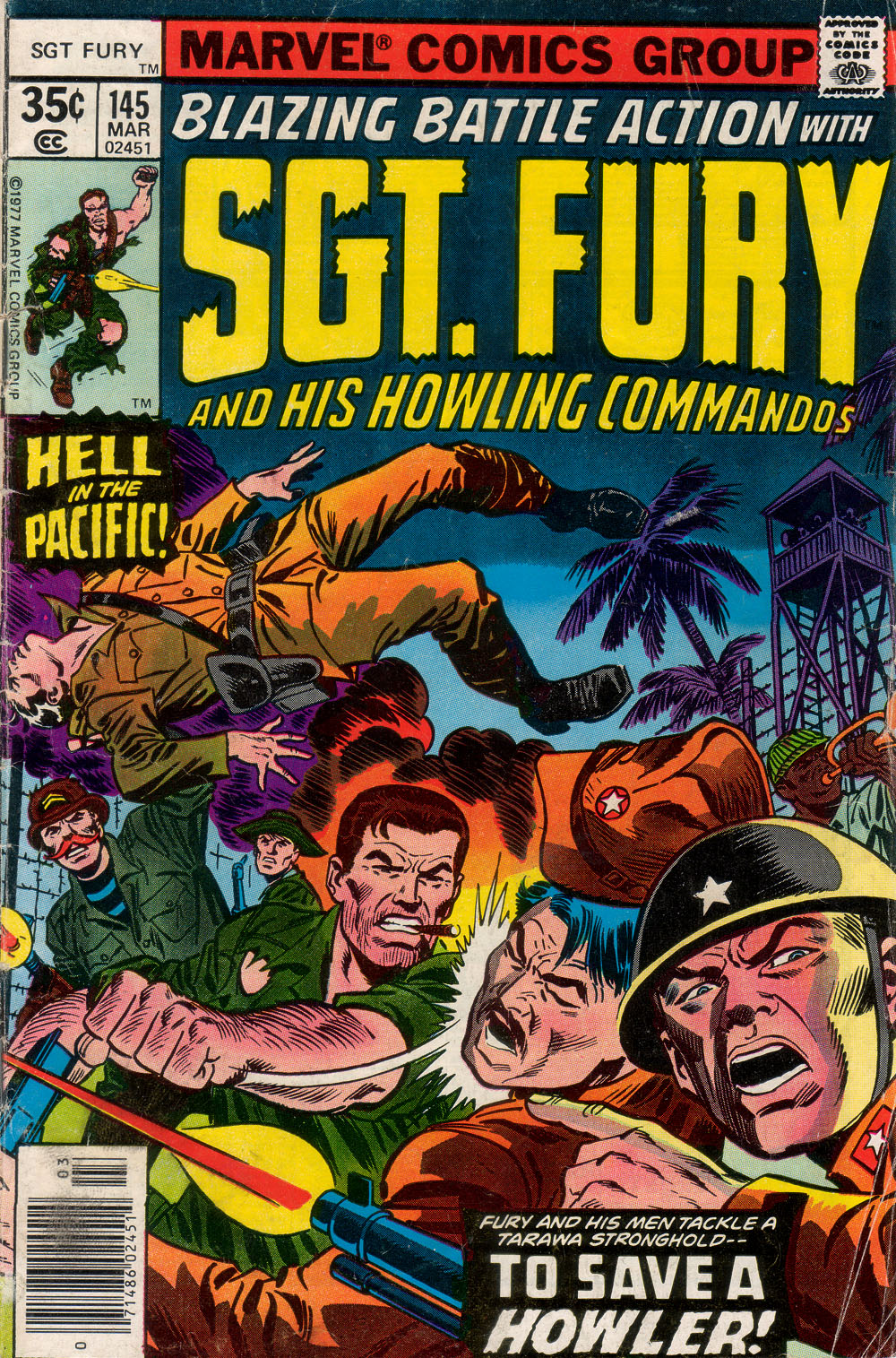 Read online Sgt. Fury comic -  Issue #145 - 1