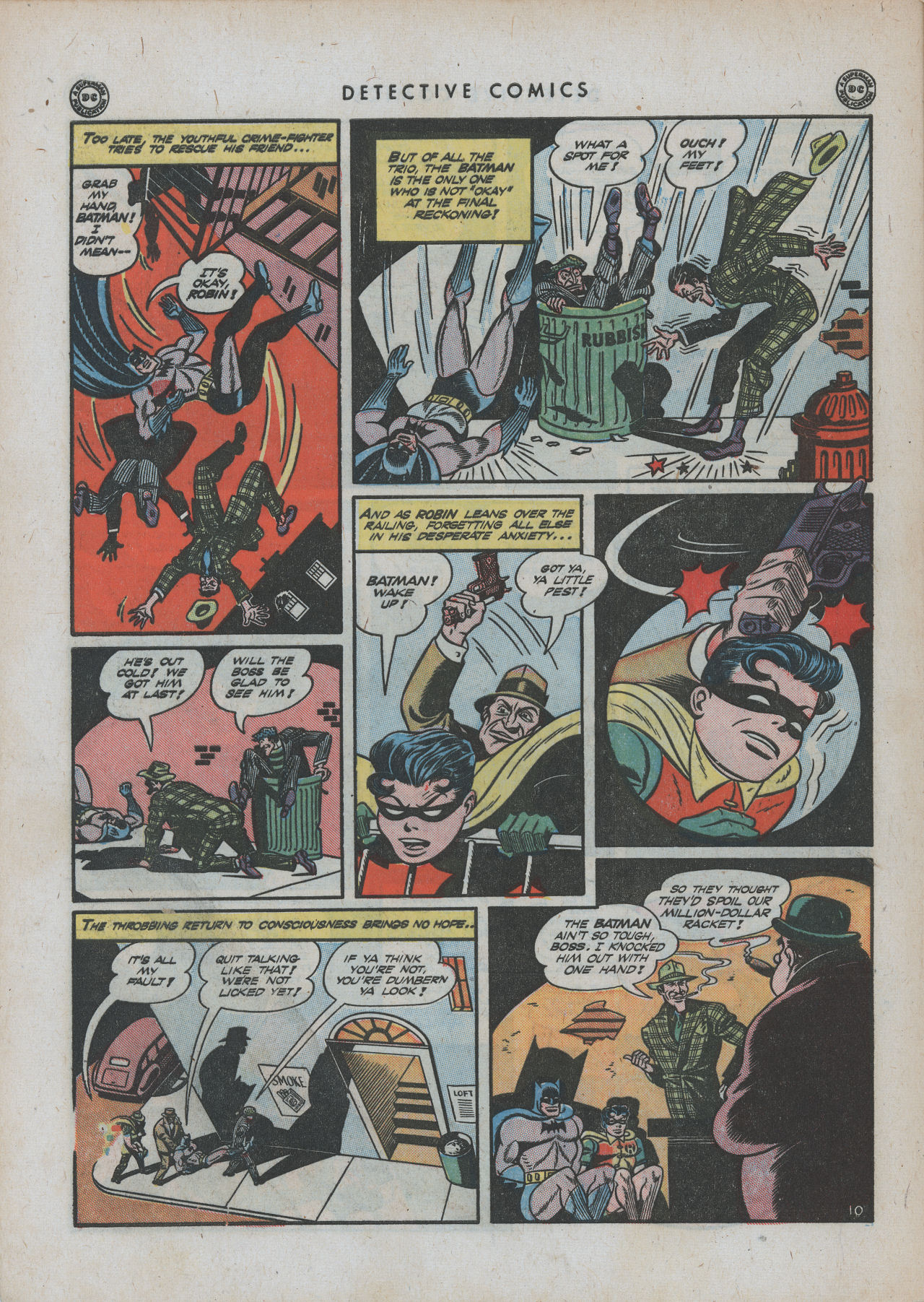 Read online Detective Comics (1937) comic -  Issue #88 - 12
