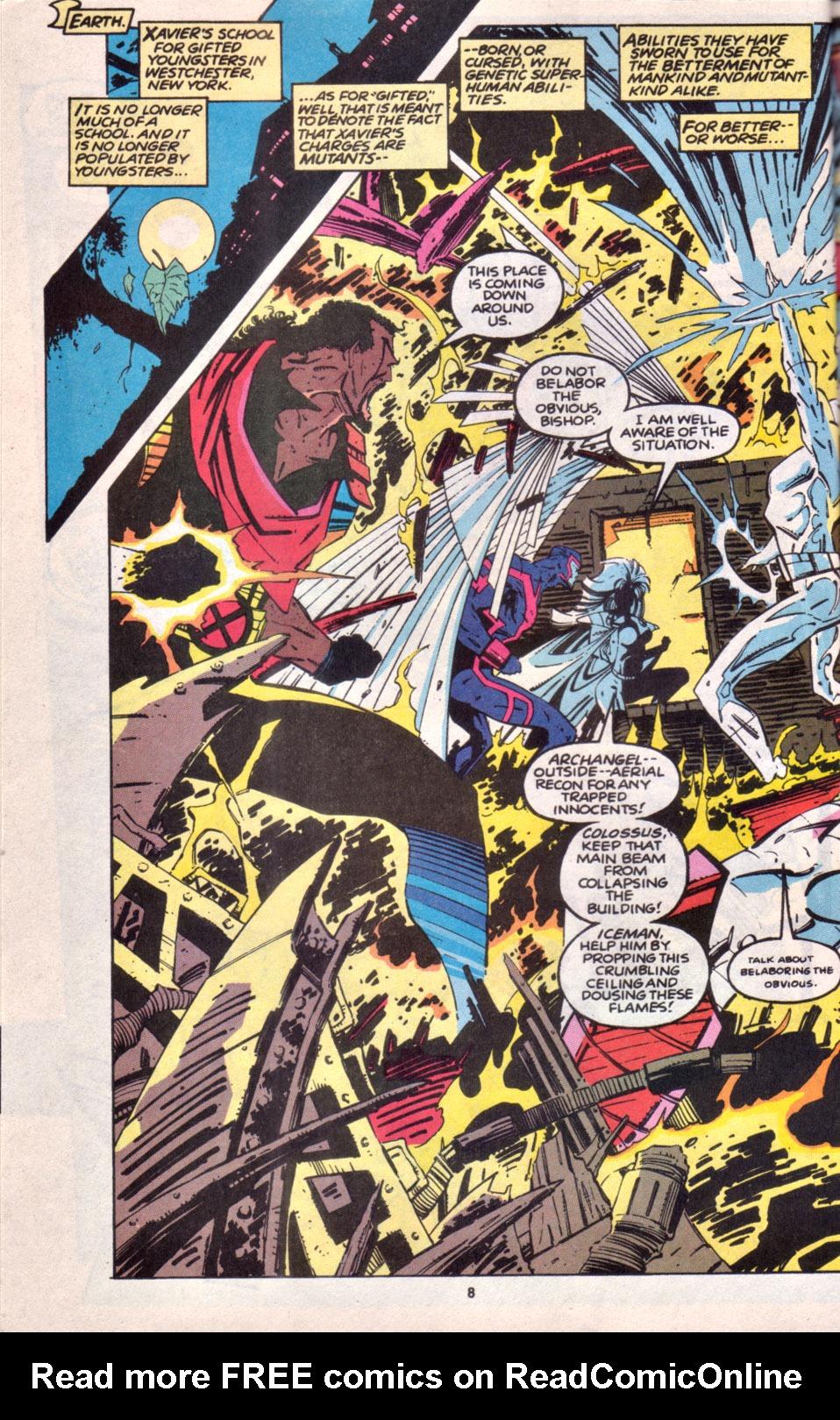 Read online Uncanny X-Men (1963) comic -  Issue # _Annual 16 - 7
