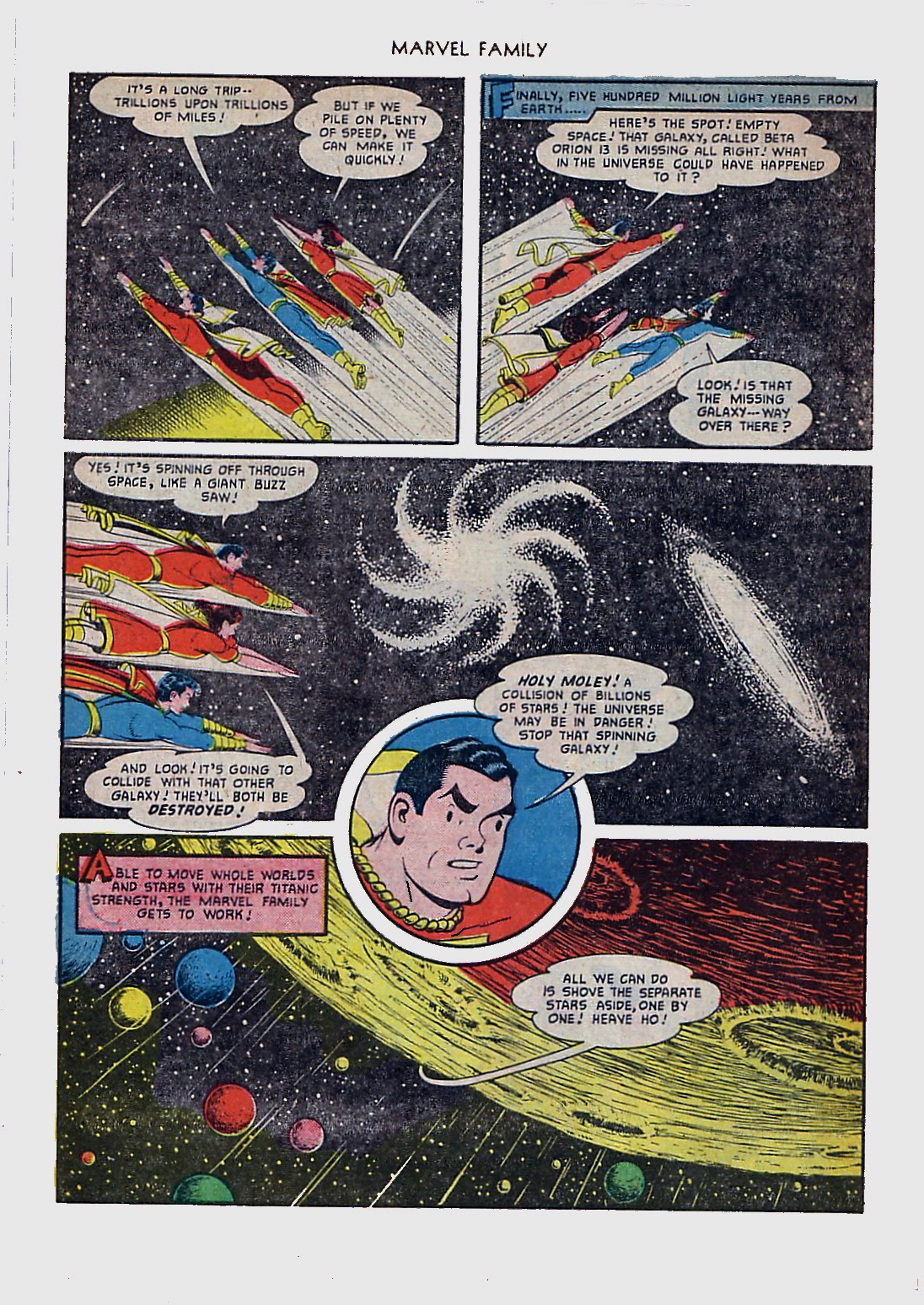 The Marvel Family issue 61 - Page 6