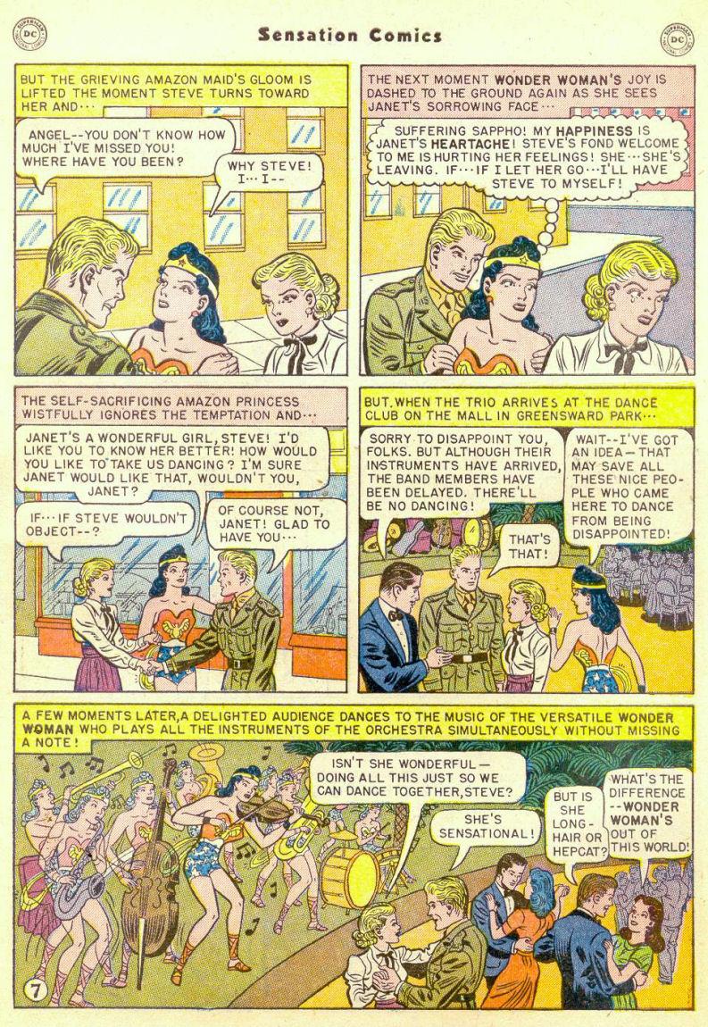 Read online Sensation (Mystery) Comics comic -  Issue #98 - 9