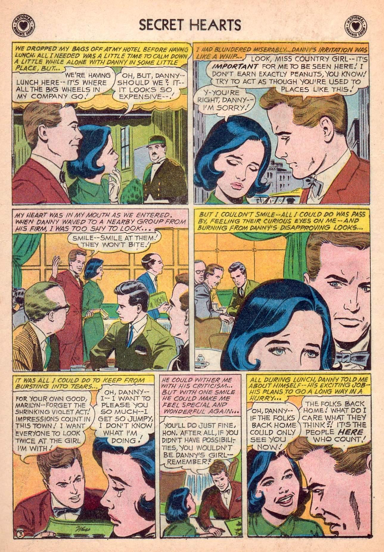 Read online Secret Hearts comic -  Issue #63 - 20