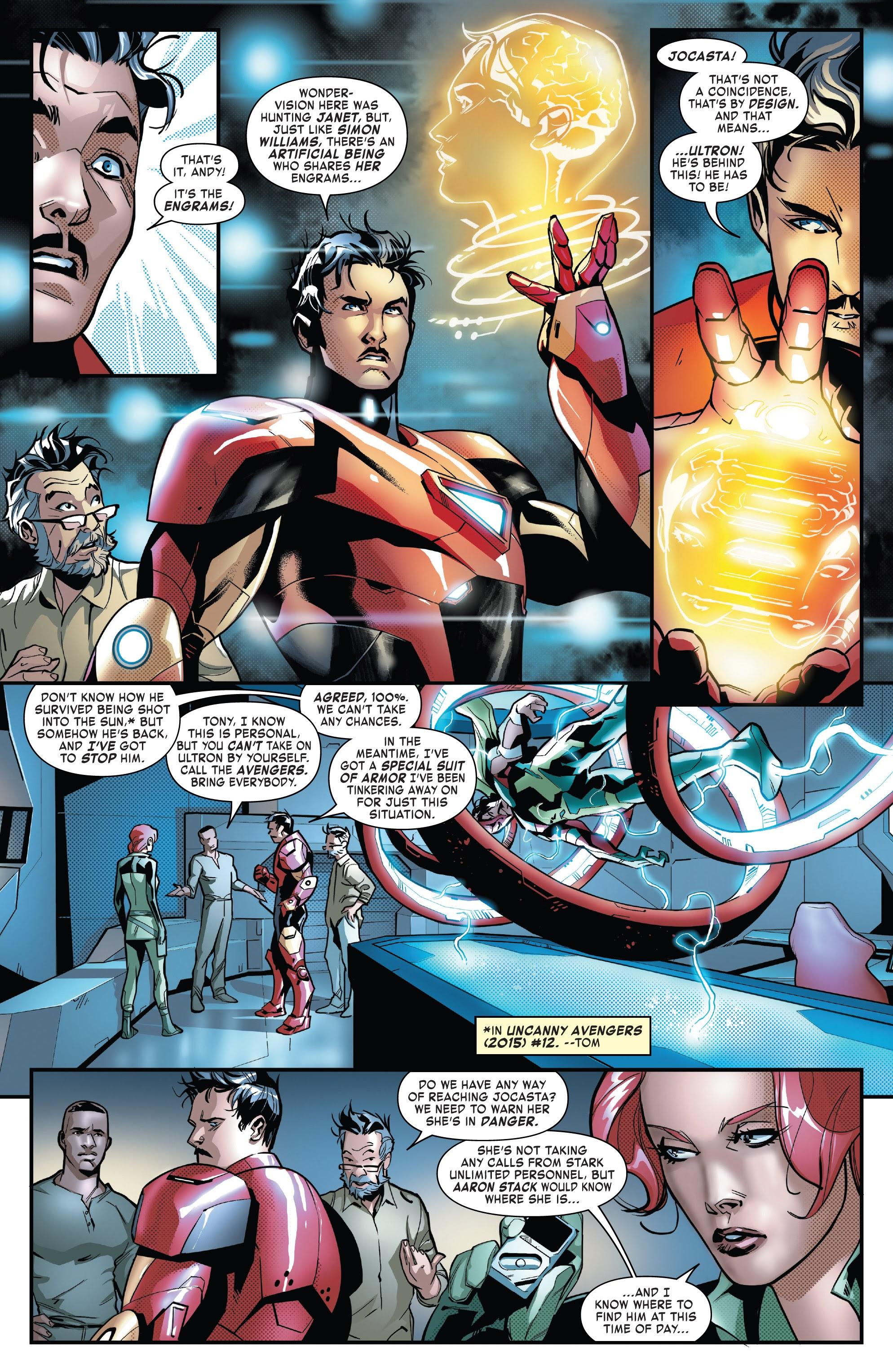Read online Tony Stark: Iron Man comic -  Issue #16 - 7